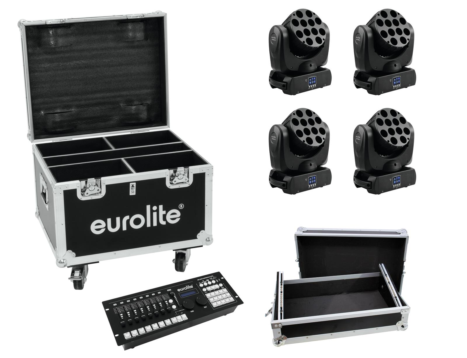EUROLITE Set 4x LED TMH-12, Co