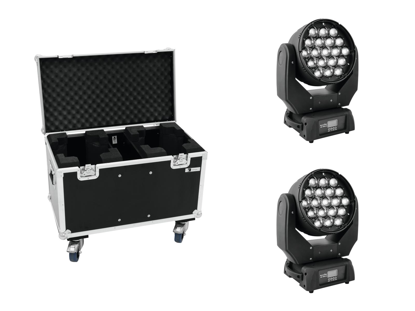 EUROLITE Set 2x LED TMH-X5 + Caso