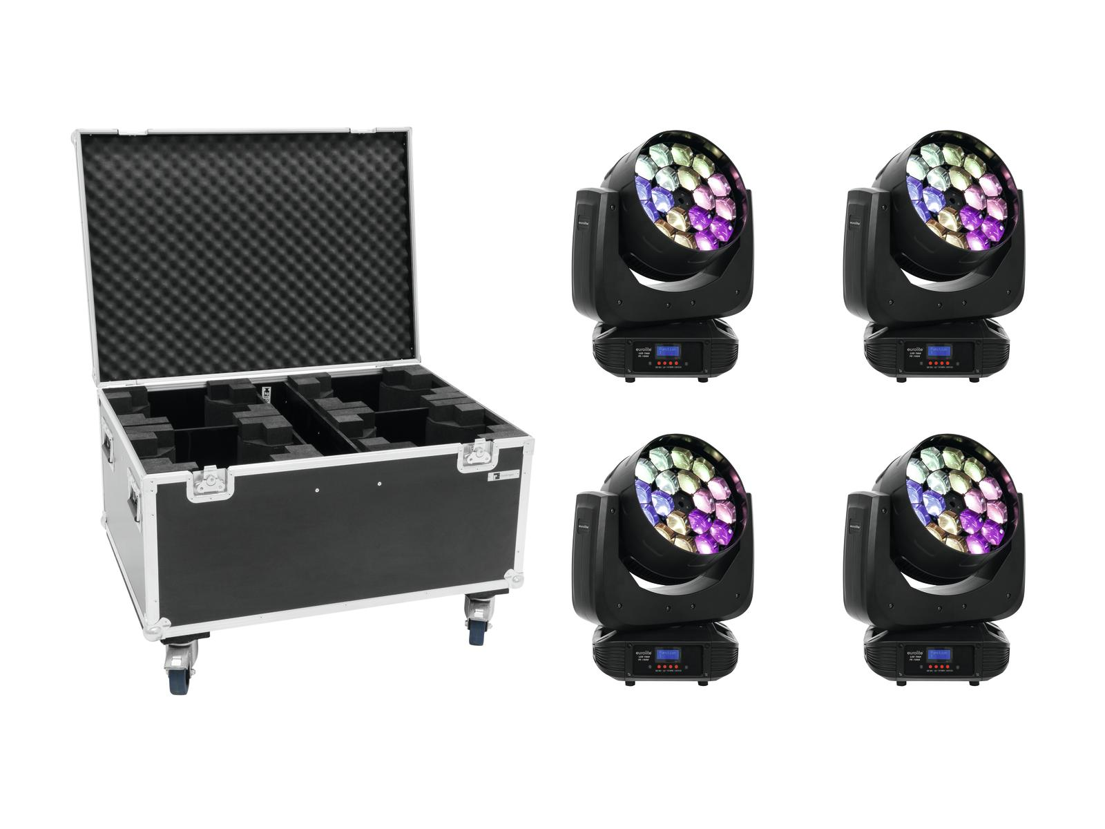 EUROLITE Set 4x LED TMH FE-180