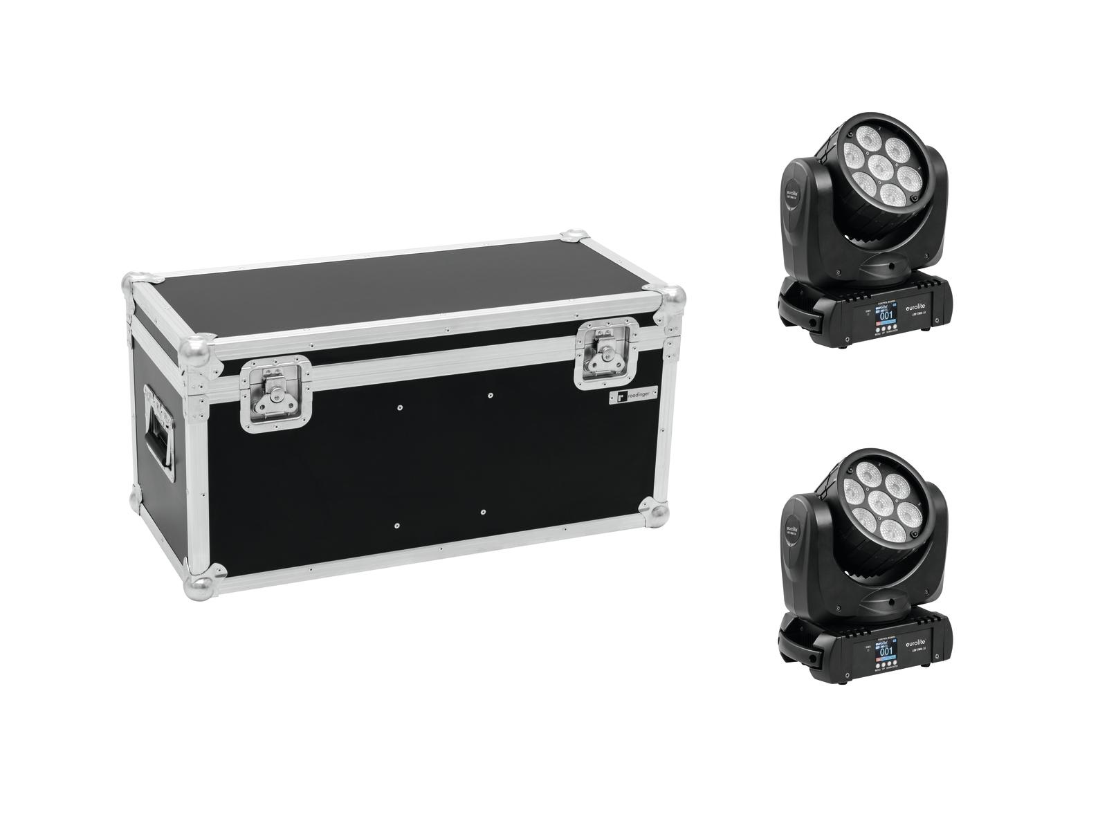EUROLITE Set 2x LED TMH-15 + Caso