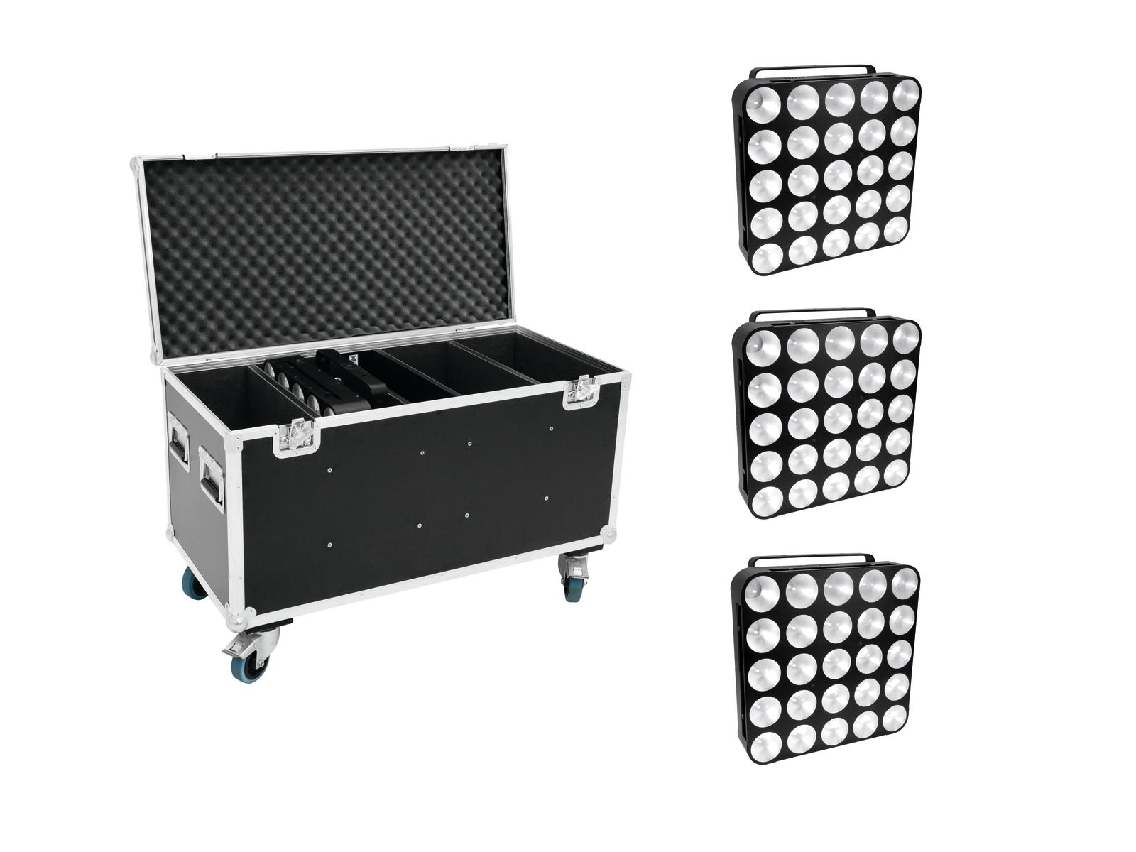 EUROLITE Set 4x LED PMC-25x10W