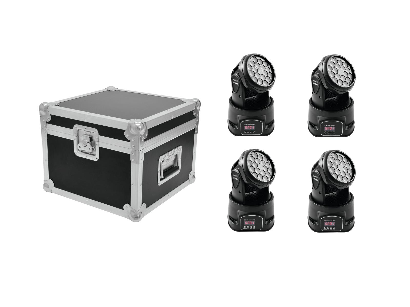 EUROLITE Set 4x LED TMH-7 + Ca