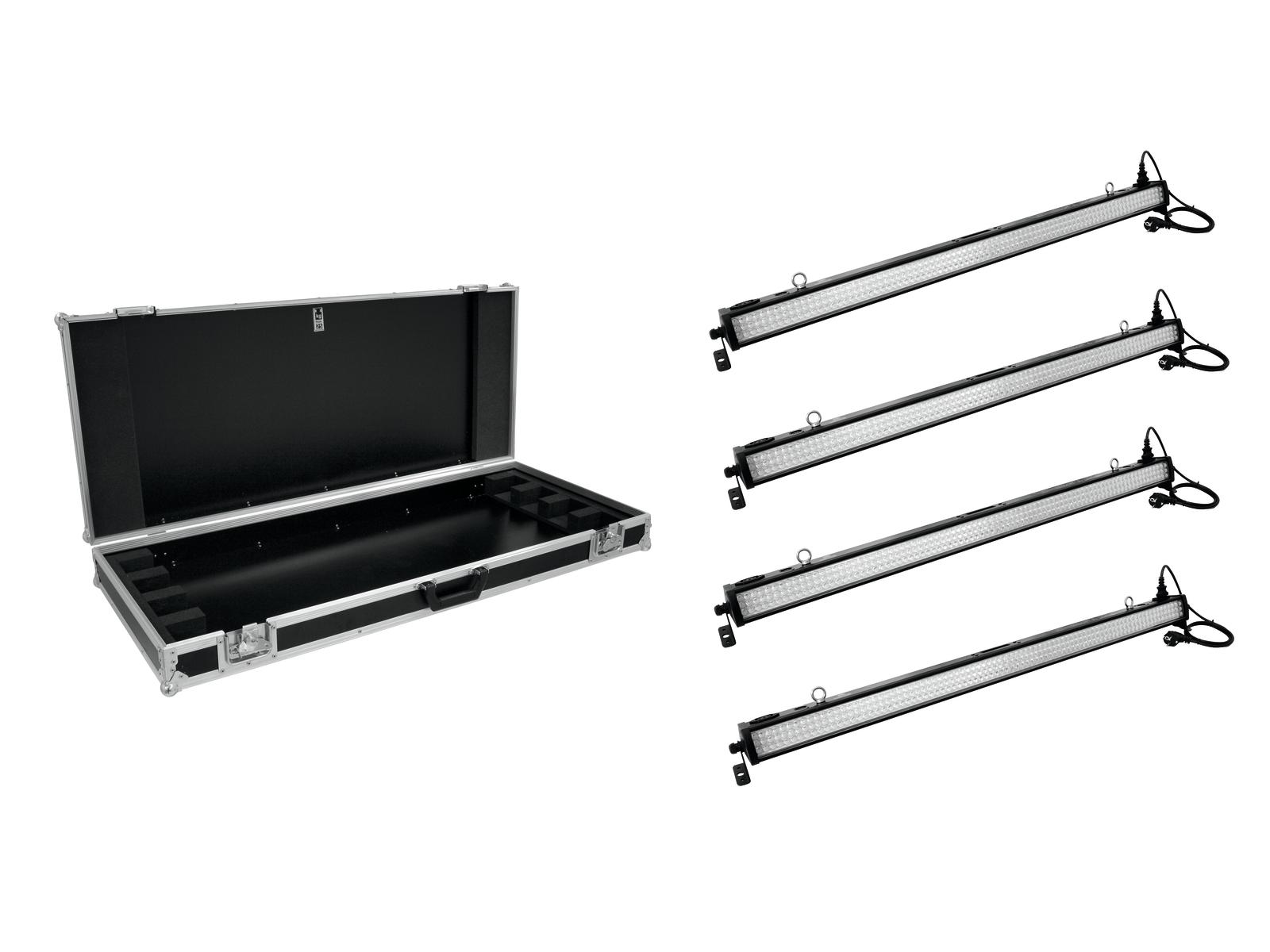 EUROLITE Set 4x LED BAR 252 RG