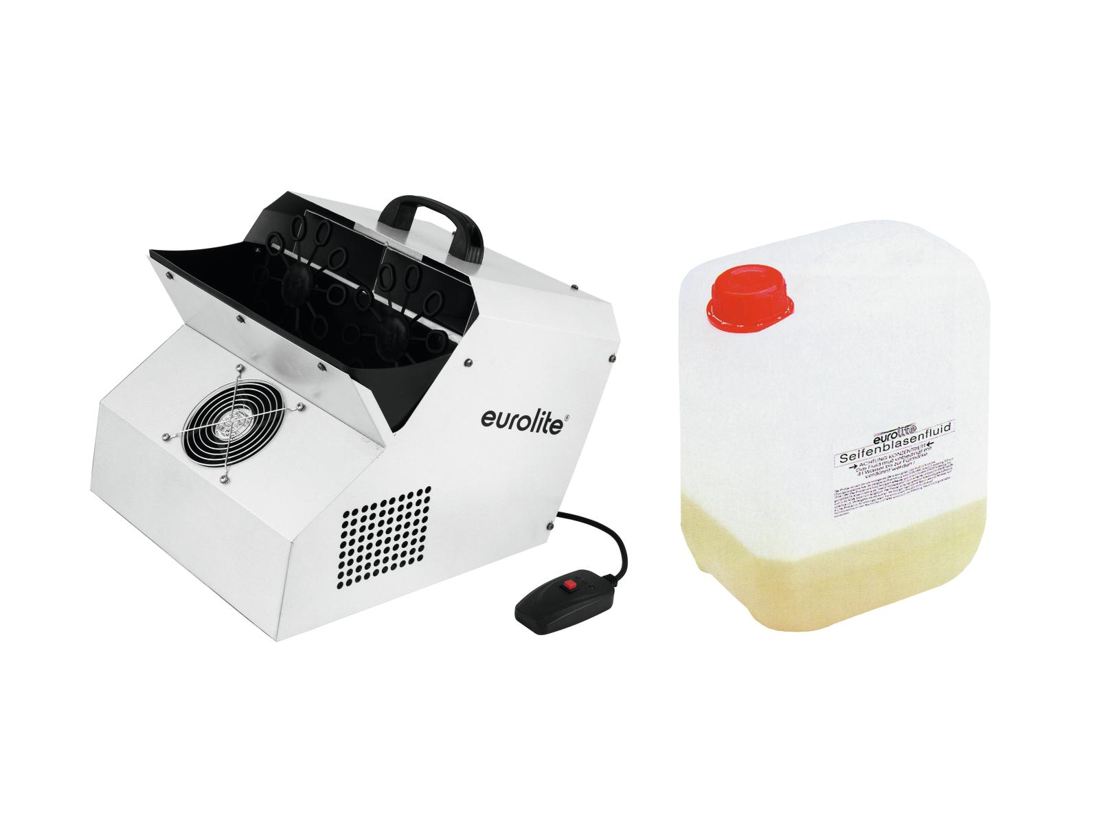 EUROLITE Set SD-201 macchina in Bolla + bubble concentrato per 5l