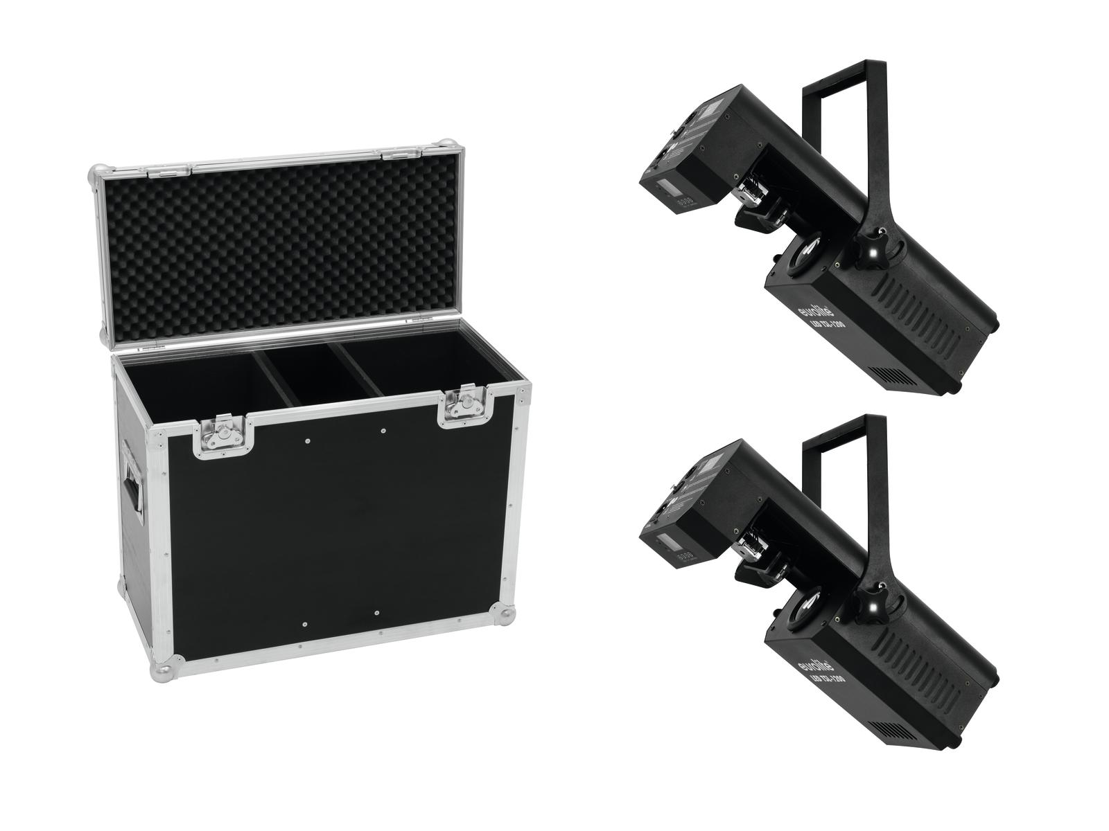 EUROLITE Set 2x LED TSL-1200 Scansione + Caso