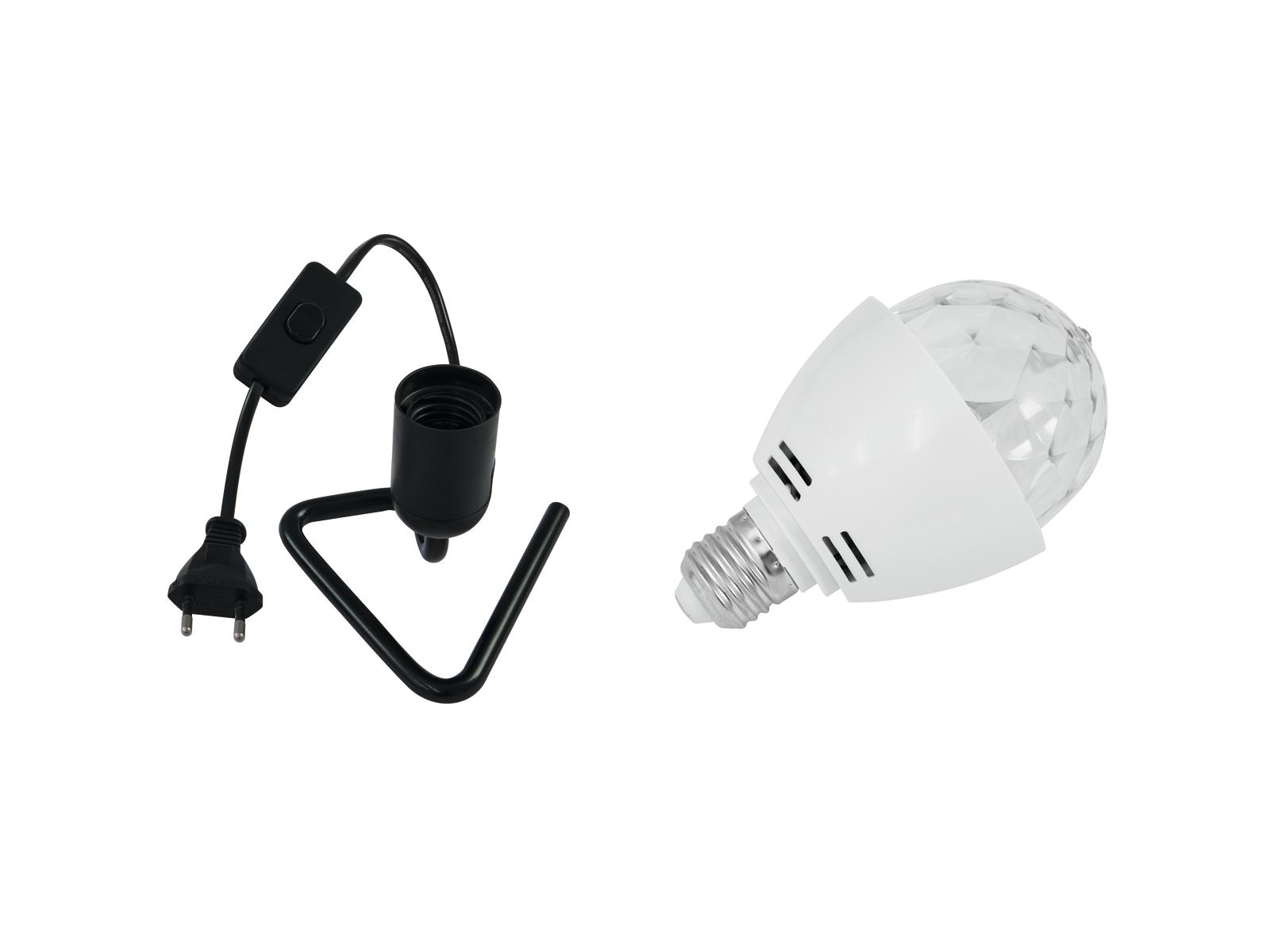 EUROLITE LED di Set BC-1 6400K + Triangolo di base nero