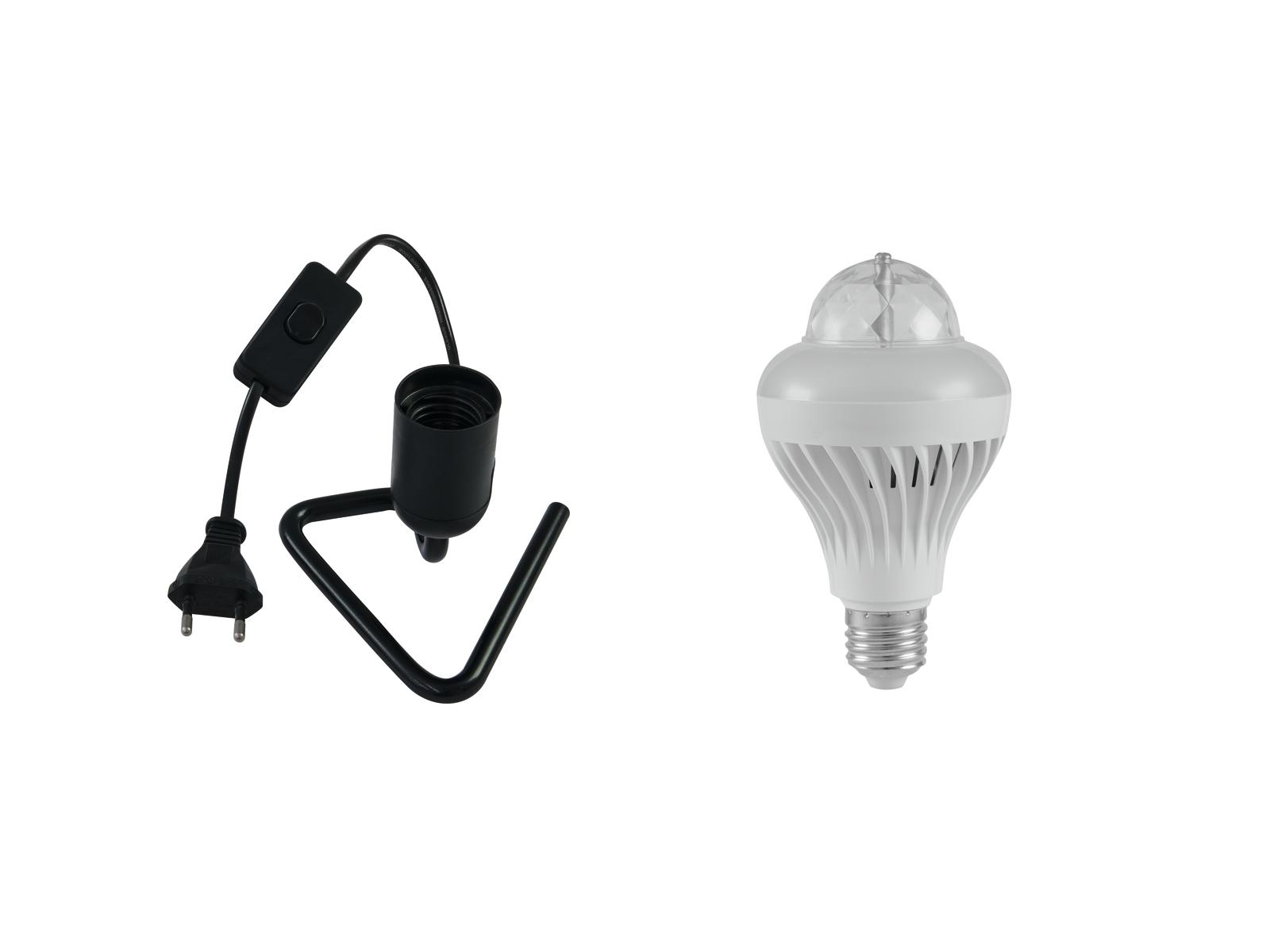 EUROLITE LED di Set di BCL-1 + Triangolo di base nero