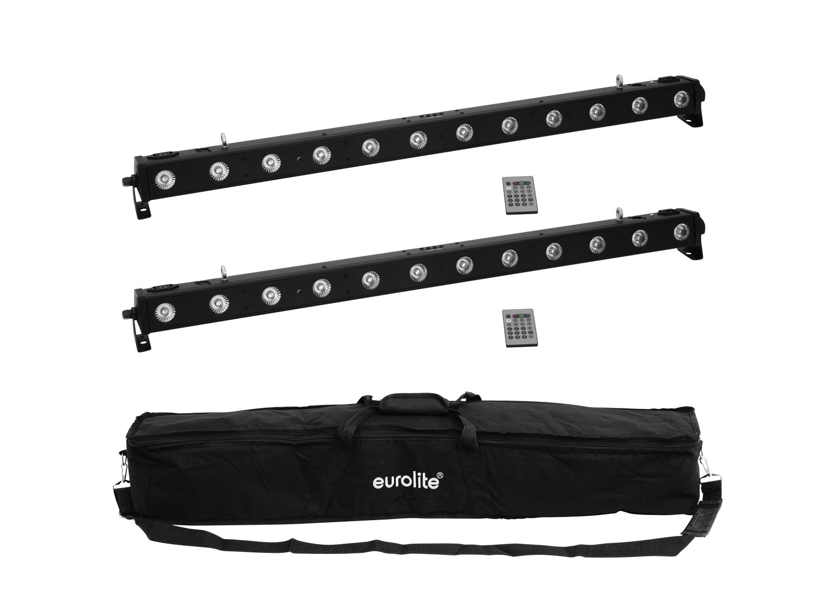 EUROLITE Set 2x LED BAR-1250 + Soft Bag