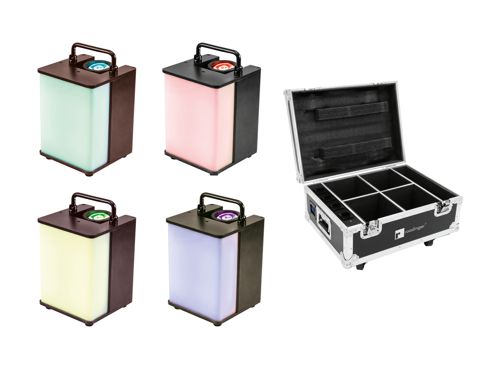 EUROLITE Set 4x AKKU UP-1 Bagl