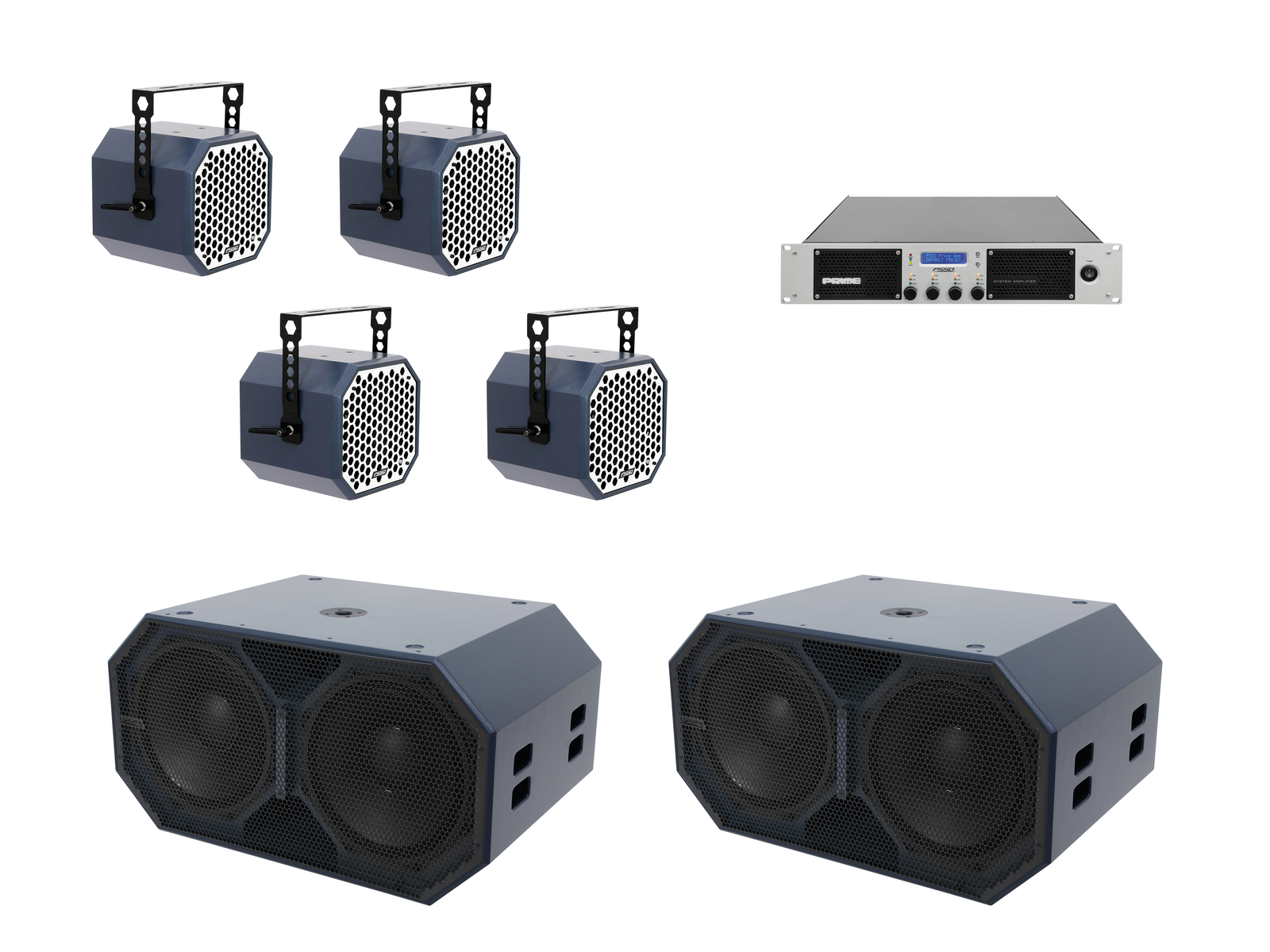 Set Speakers PSSO the First Set's Subwoofer Amplifier