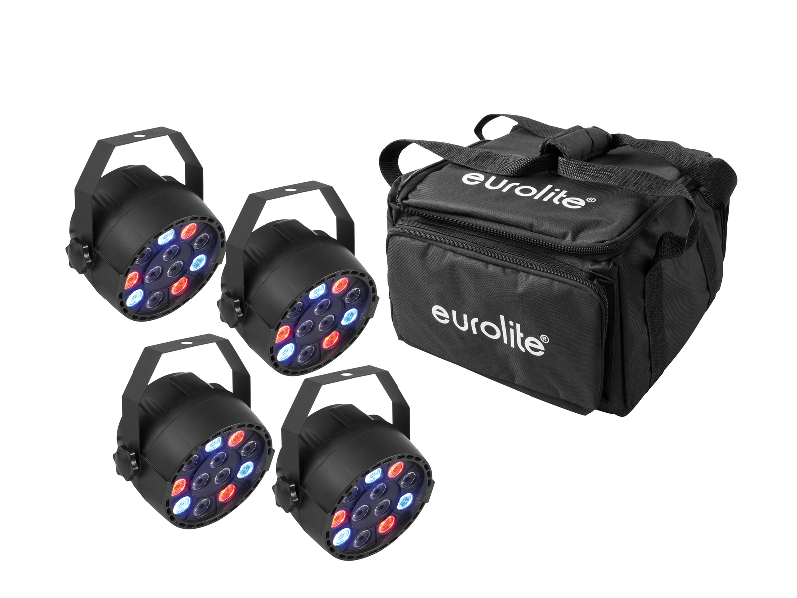 EUROLITE Set 4x LED PARty Spot