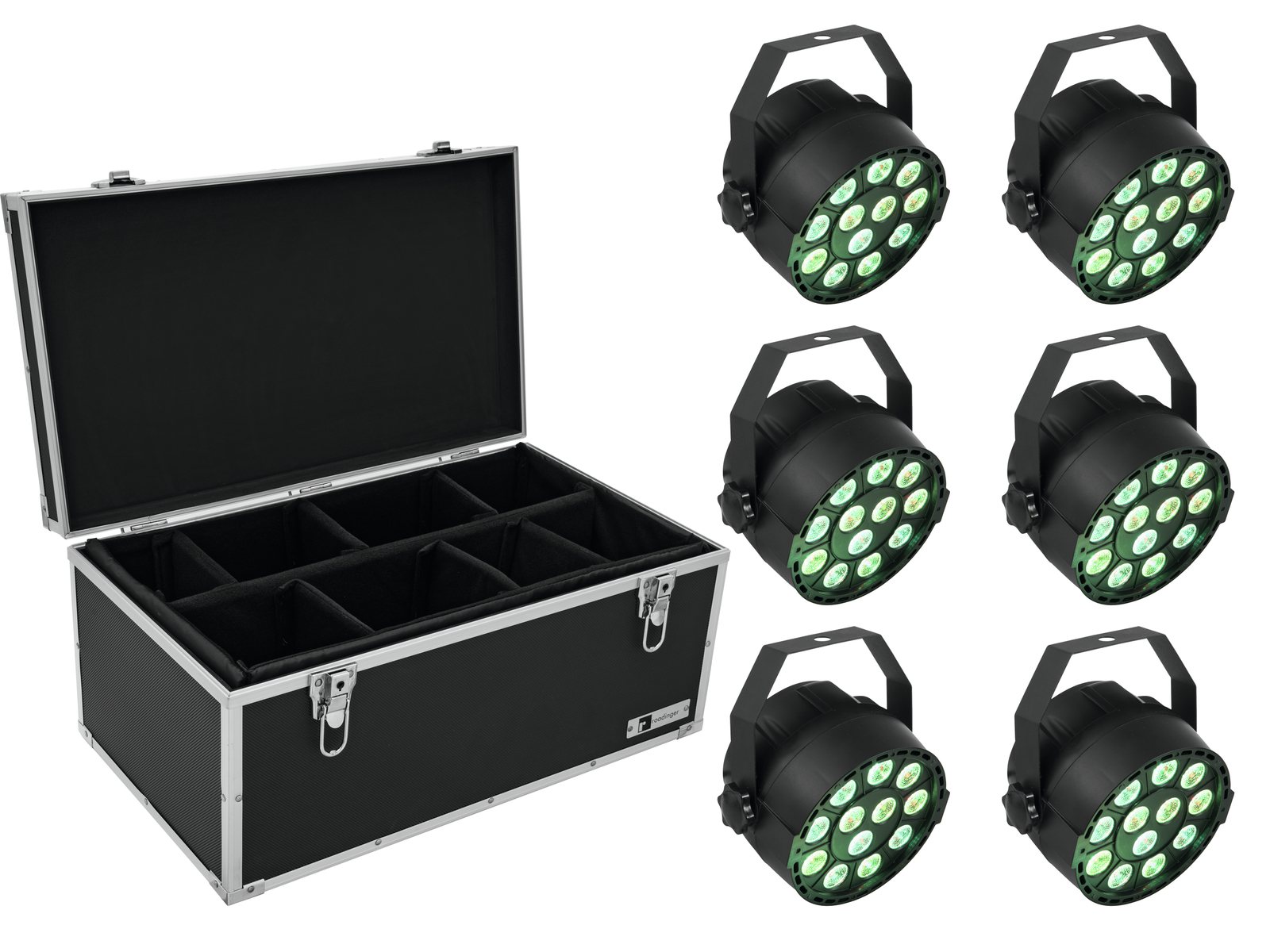 EUROLITE Set 6x LED PARty TCL