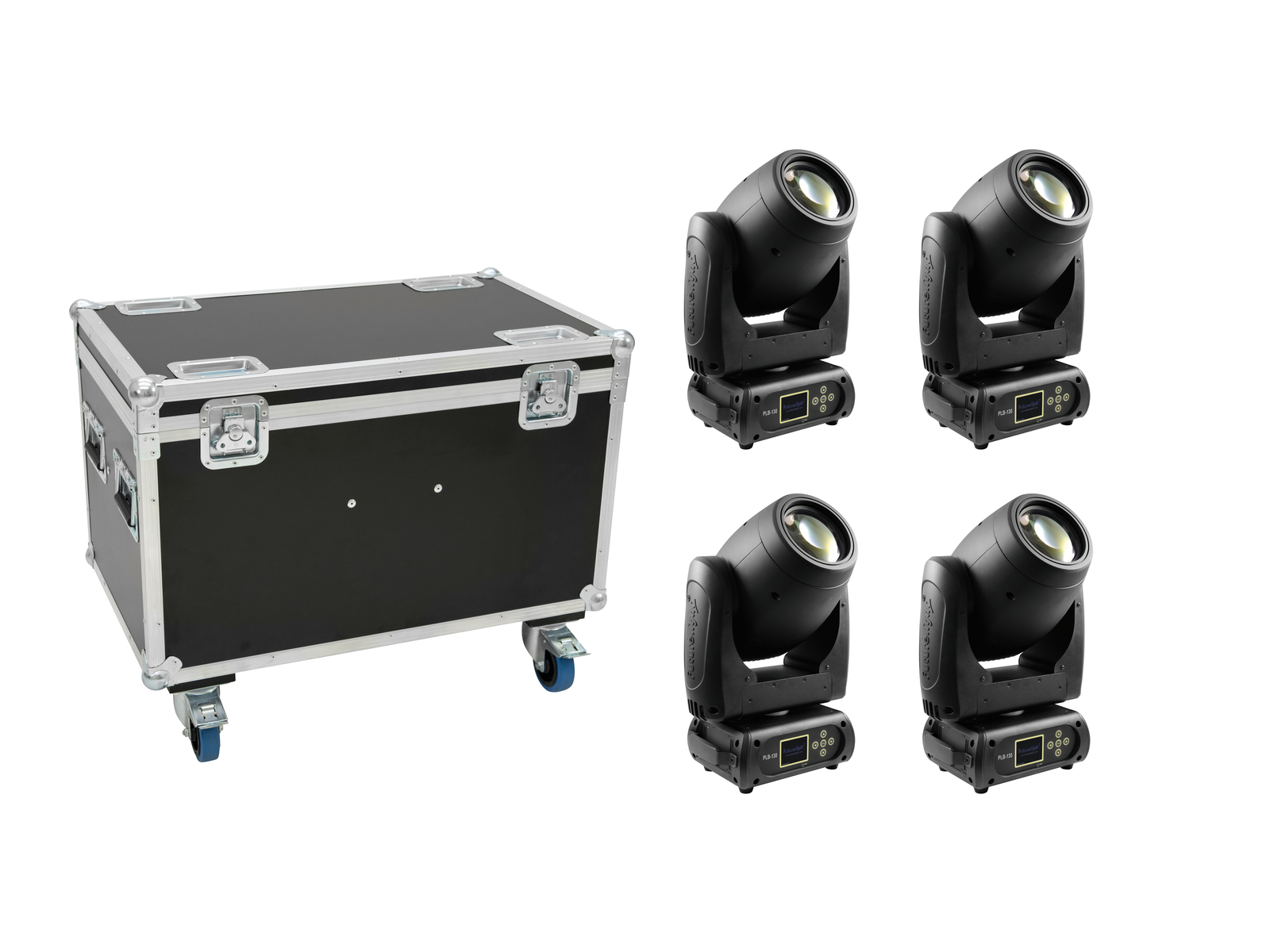 FUTURELIGHT Set 4x PLB-130 + Case