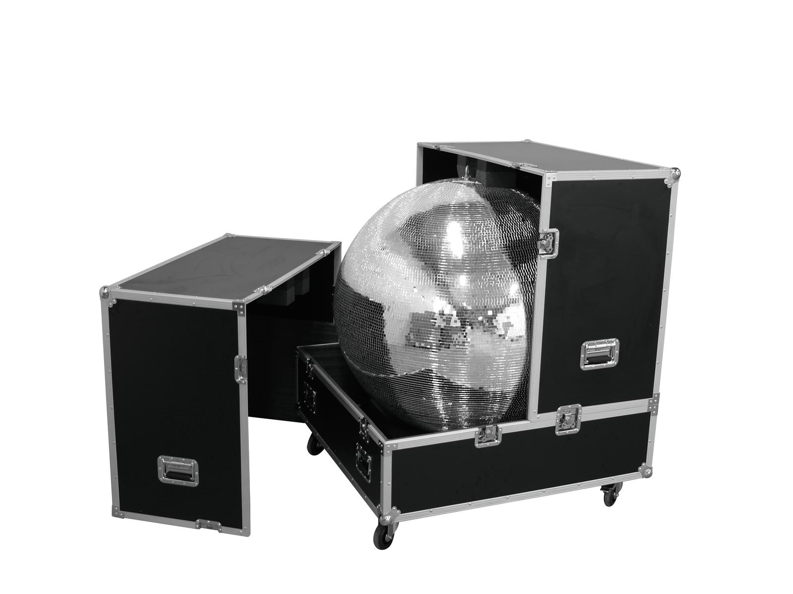 Flight case Per Palla Sfera Mirror ball 100 cm ROADINGER
