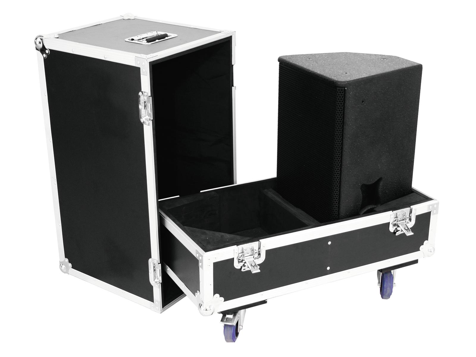 ROADINGER Flightcase 2x PAS-21