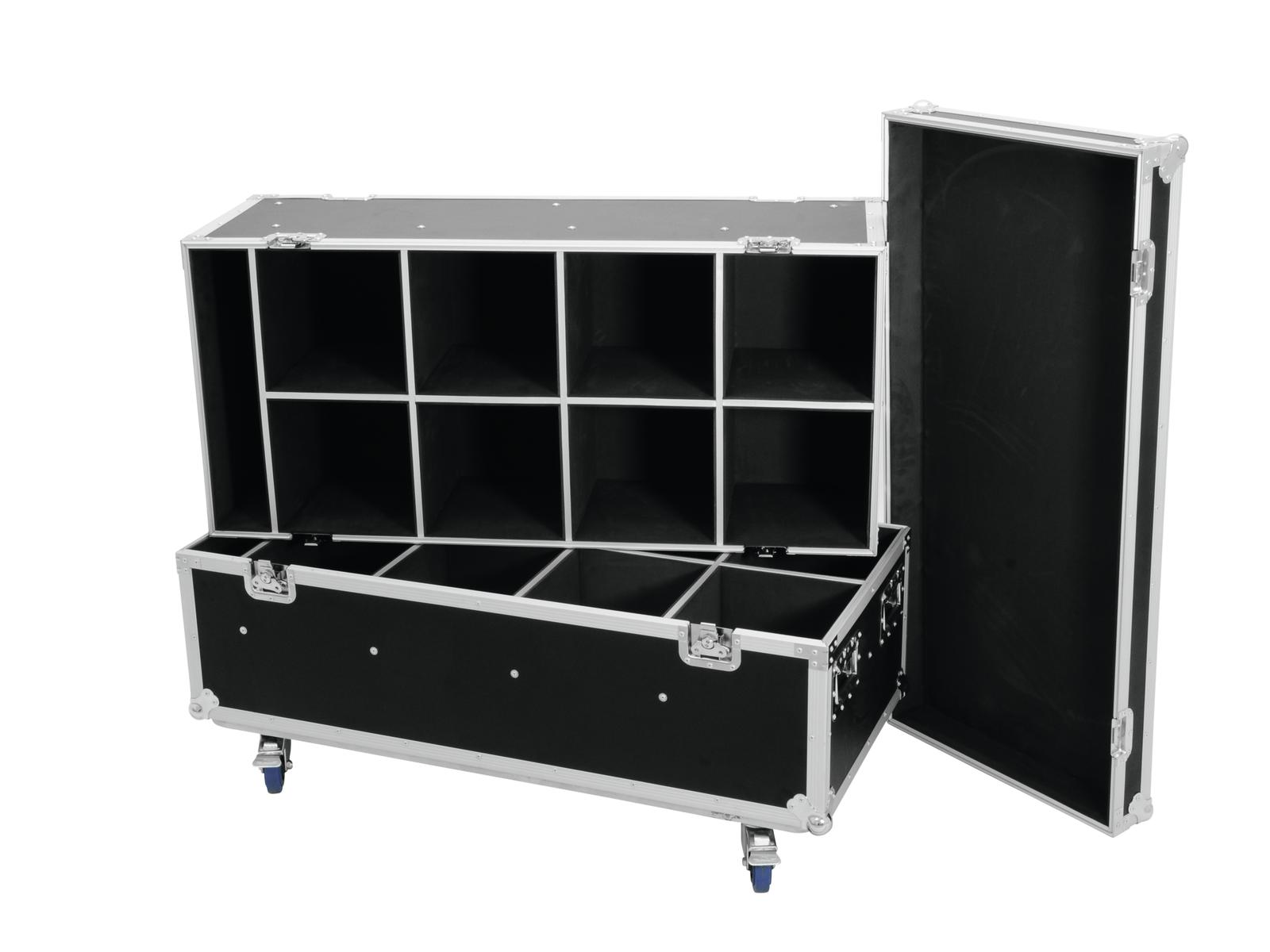ROADINGER Flightcase 16x PAR-56/PAR-64/ML-56