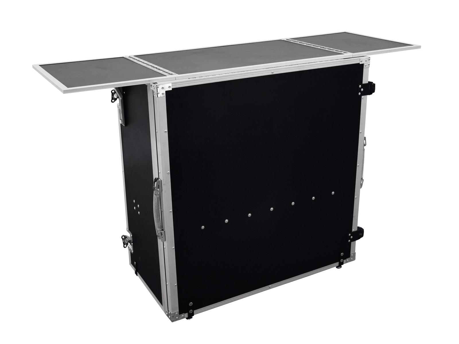 Flight case Banco Console Pieghevole Per Dj Musicisti 1480x510x930mm ROADINGER
