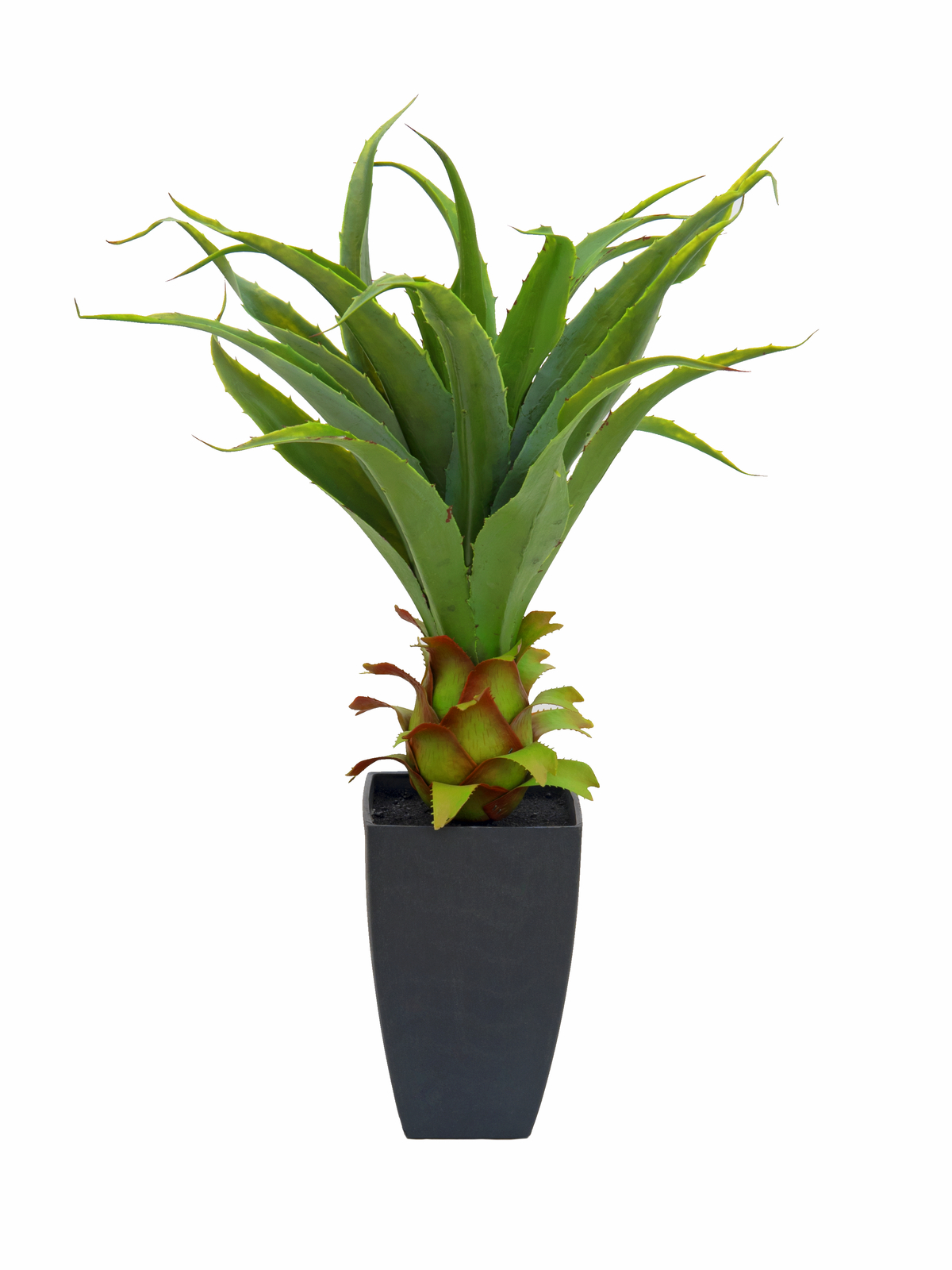 EUROPALMS pianta artificiale Agave  con vaso, 75cm