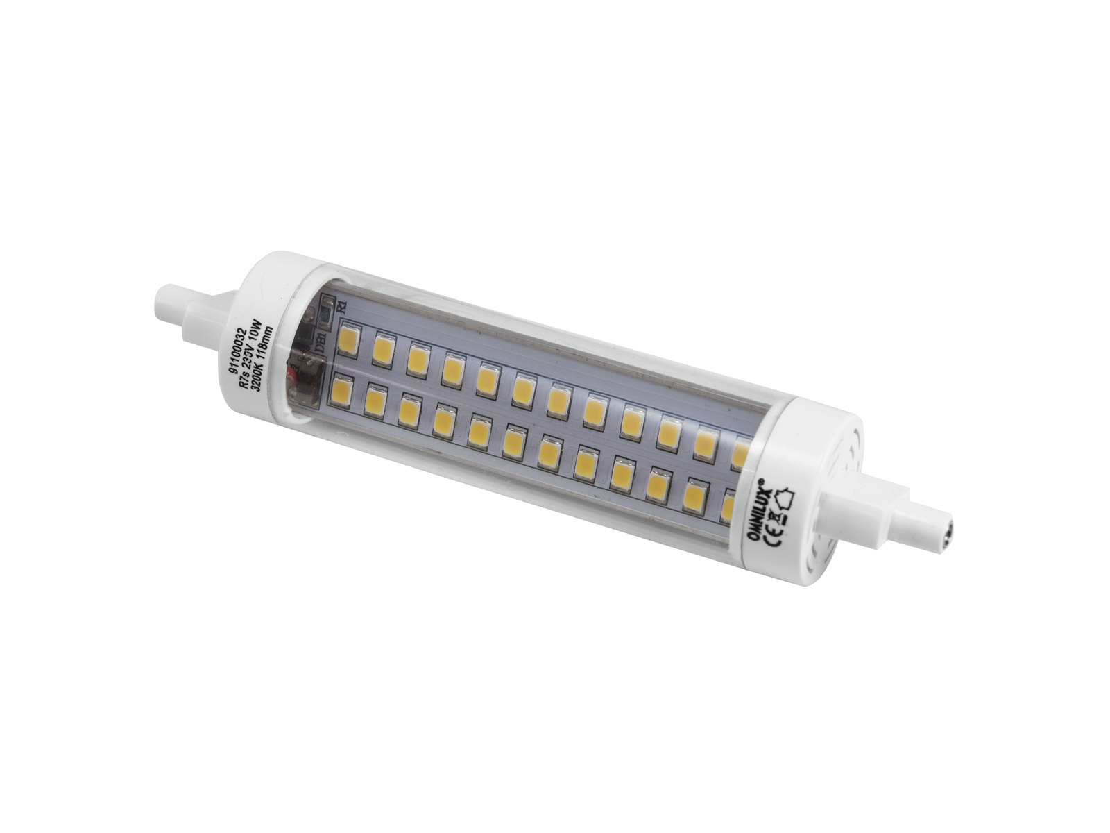 OMNILUX LED 230V/10W R7s 118mm