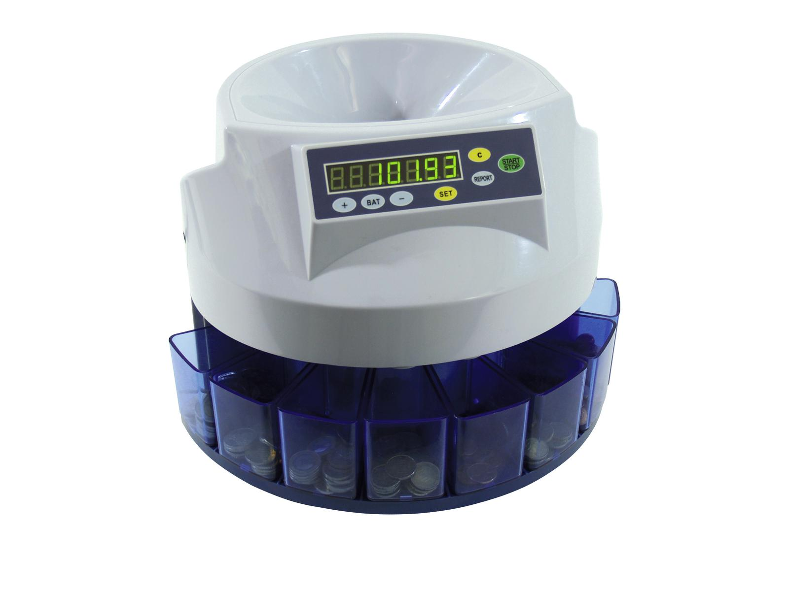 EUROLITE CS-100 Coin counter/s