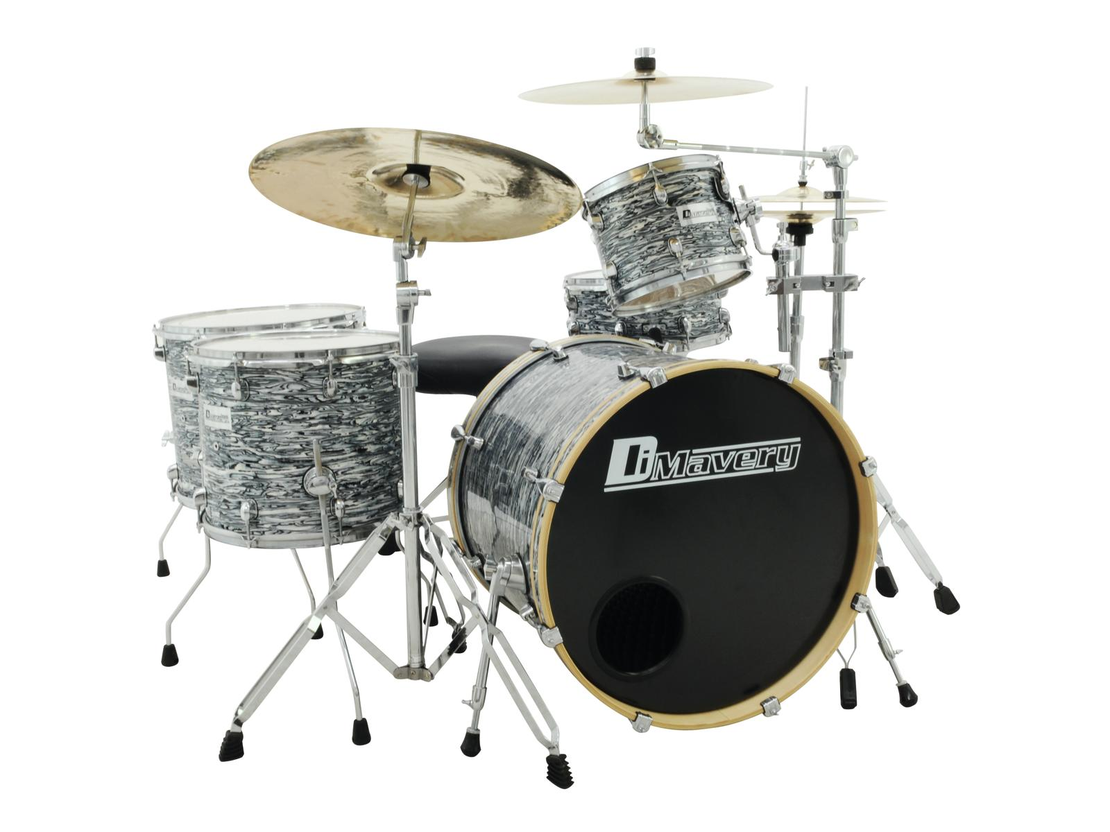 DIMAVERY DS-555 Drum set oyster