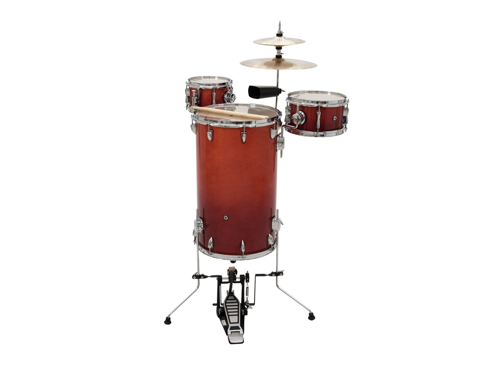 DIMAVERY CD Cocktail Drum set, orangeburst