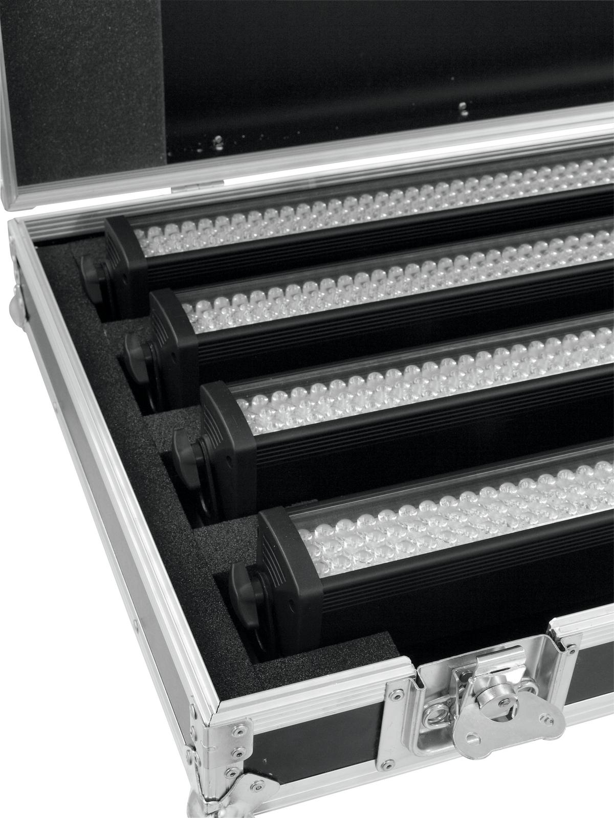 ROADINGER Flightcase 4x LED BA