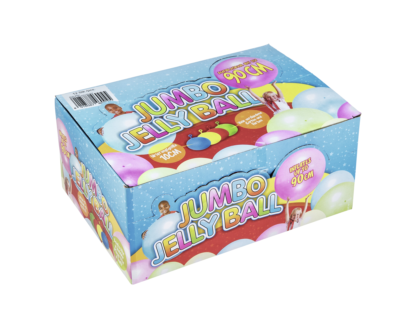 ACCESSORIO Jumbo Jelly Ball, 90cm, 12x