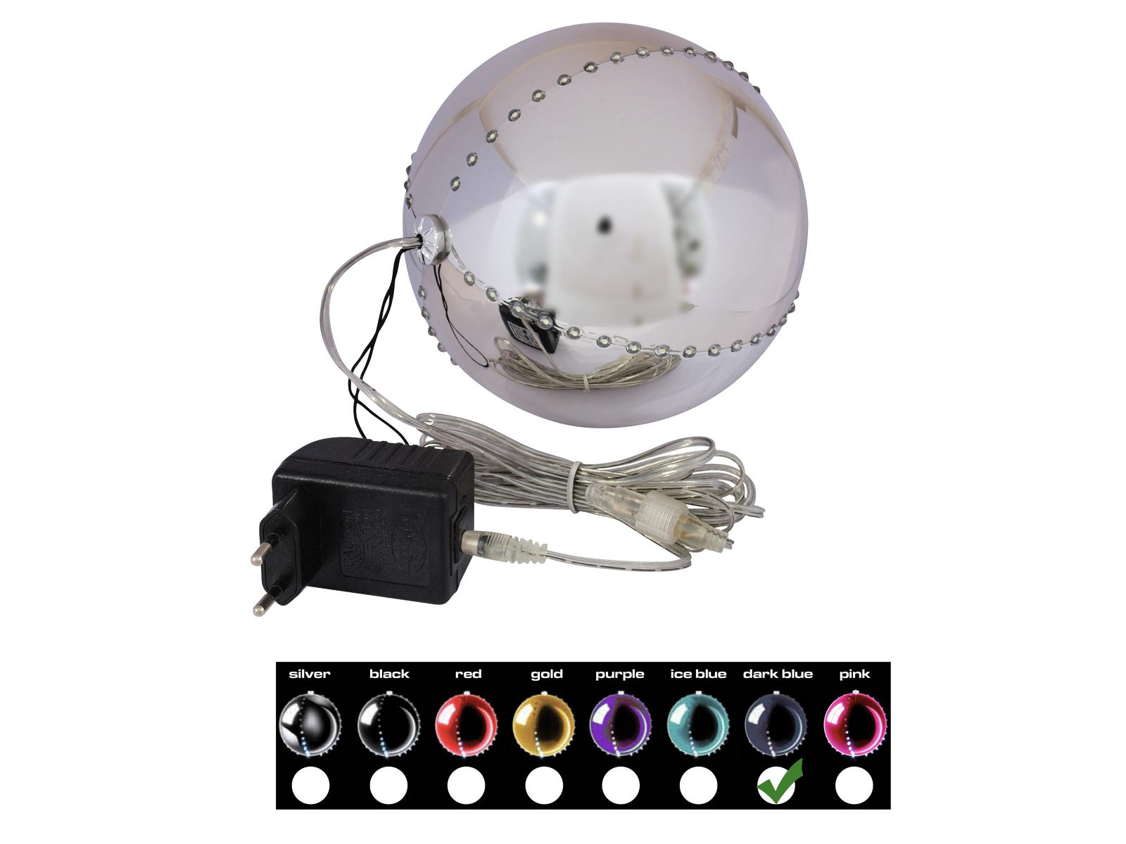 EUROPALMS LED palla di neve 15
