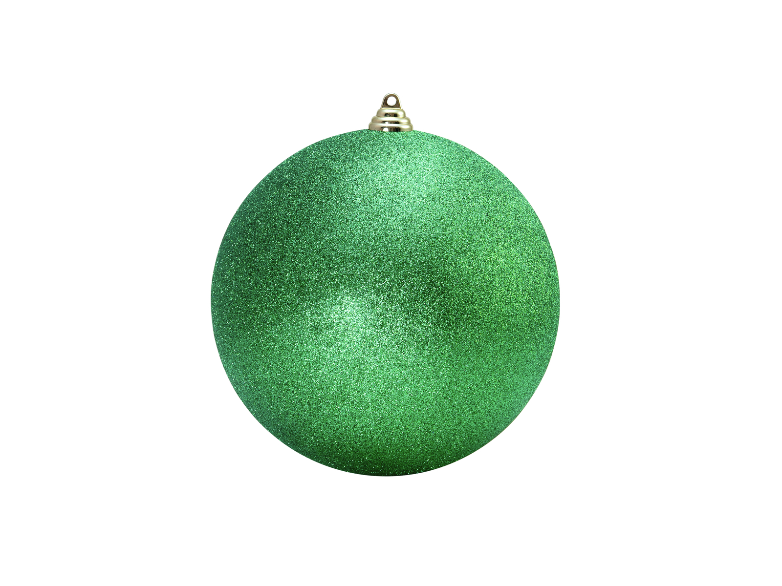 EUROPALMS Decoball 10cm, applegreen, glitter 4x