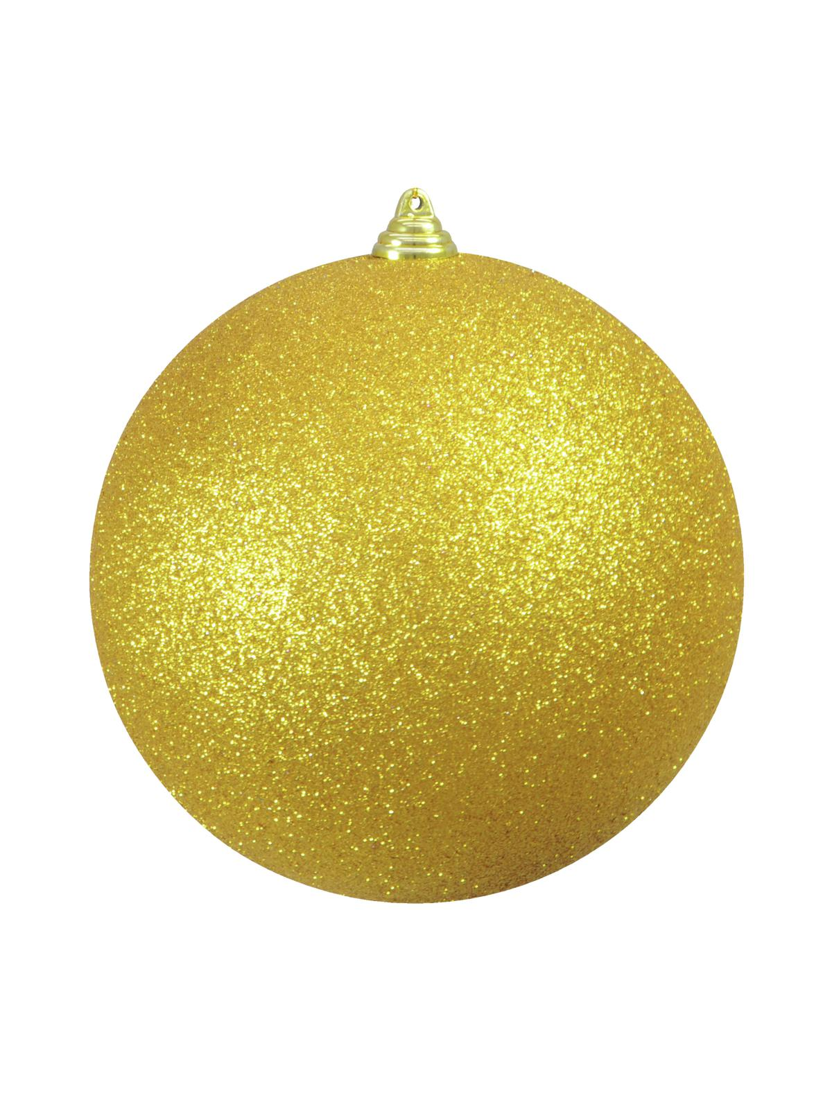 EUROPALMS Decoball 20cm, oro, glitter