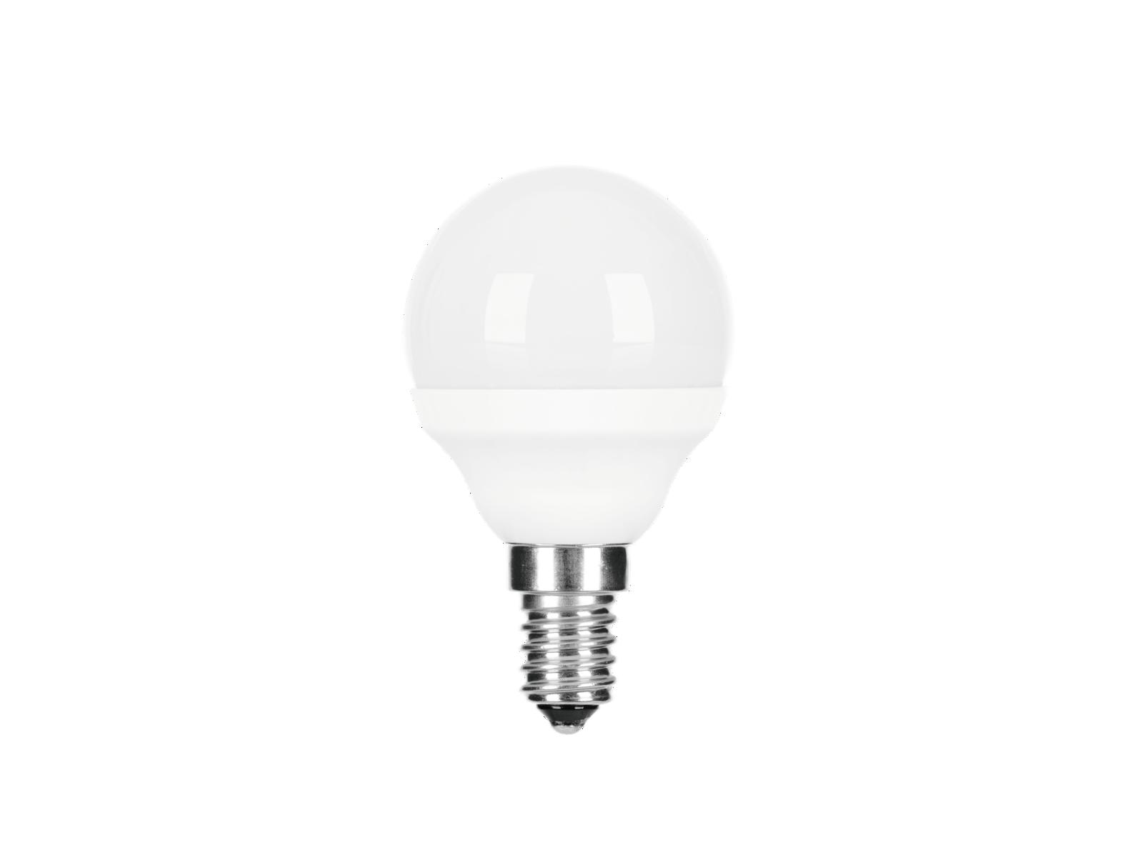 GE LED Sferica Dimmable E14 4,5 W FR