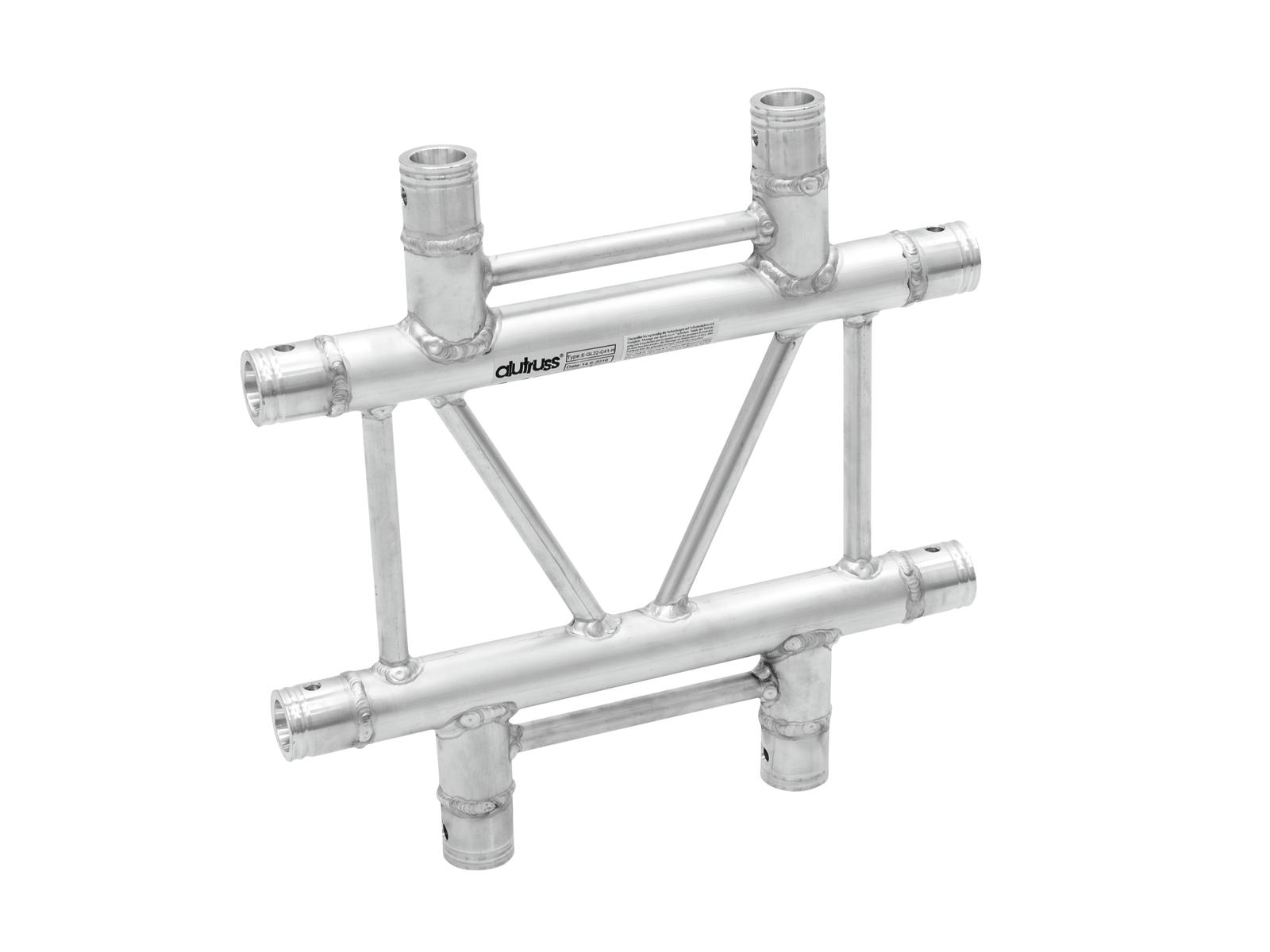 ALUTRUSS BILOCK E-GL22 C41-H 4-Via Croce