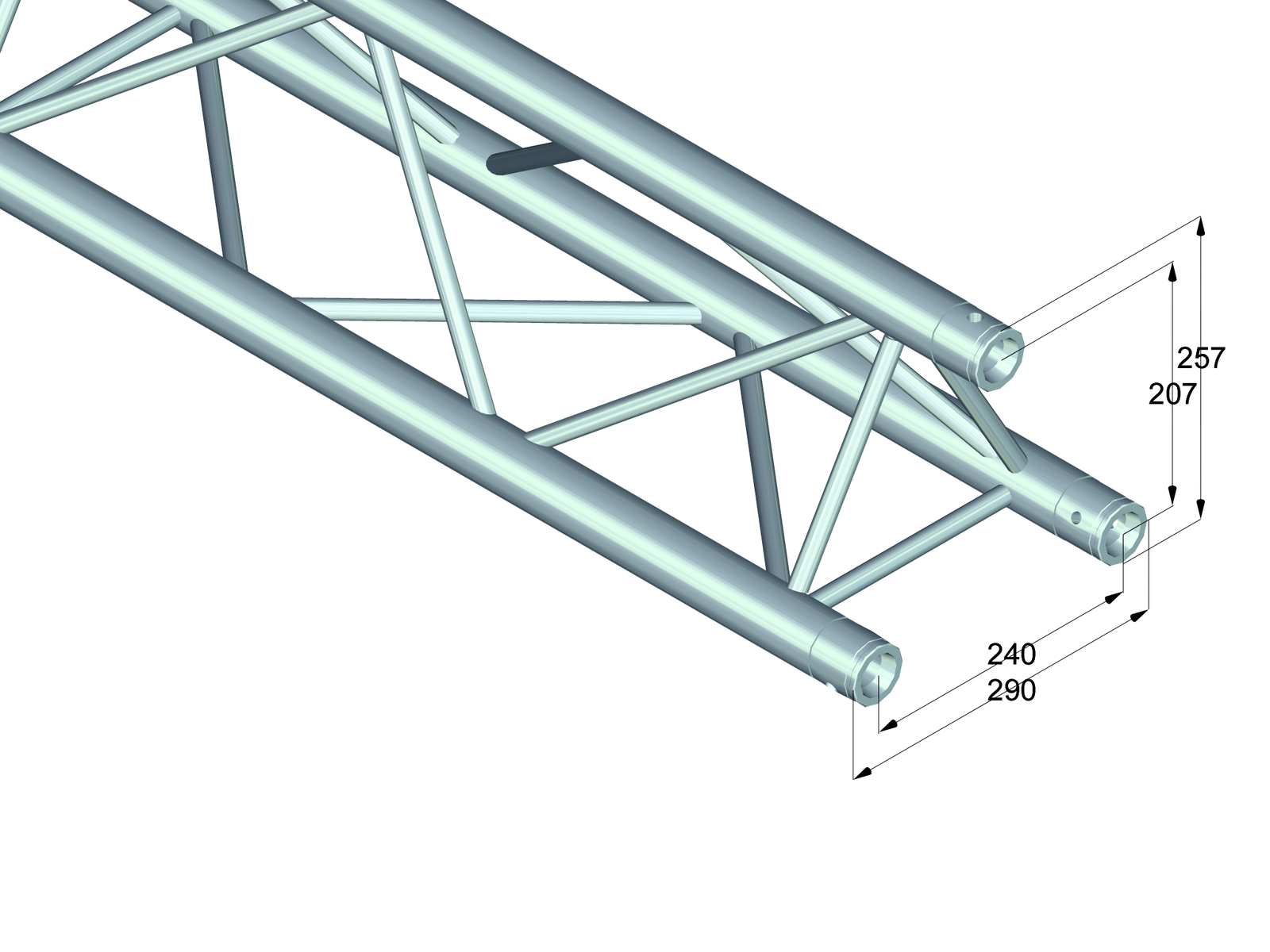 ALUTRUSS TRILOCK 6082-3000 a 3