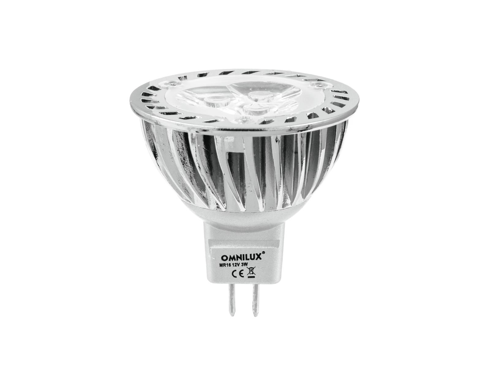 OMNILUX MR16 12V GU-5.3 3x1W LED 6500K