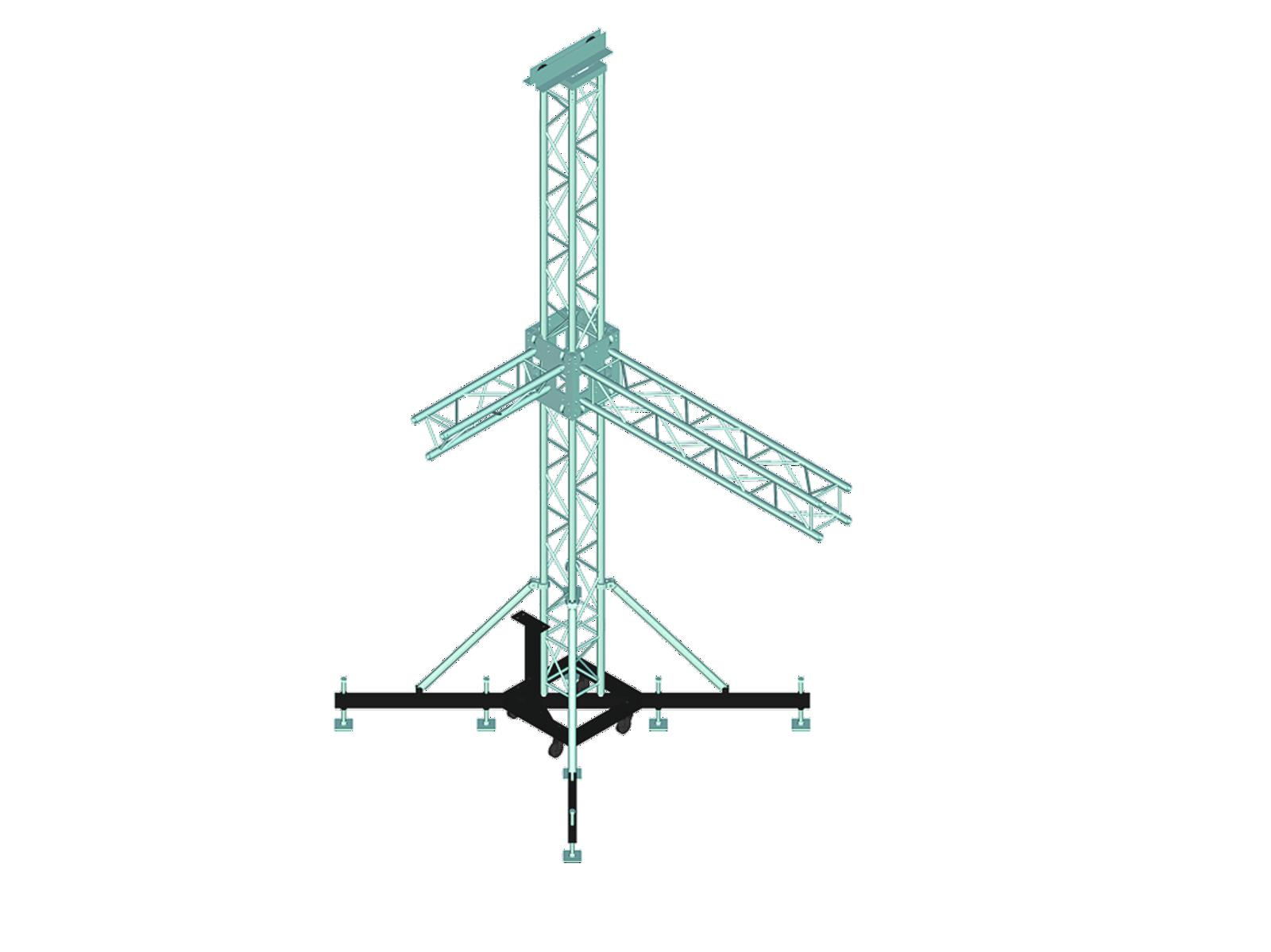 ALUTRUSS Torre System II
