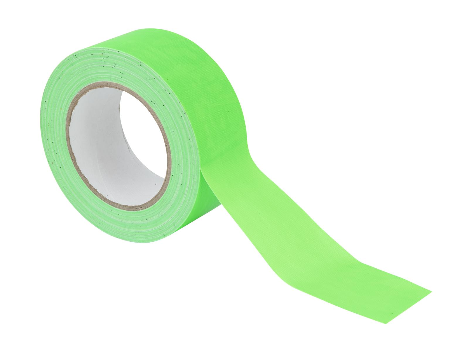ACCESSORIO ai gaffa Tape 50mm x 25m neon-verde uv active