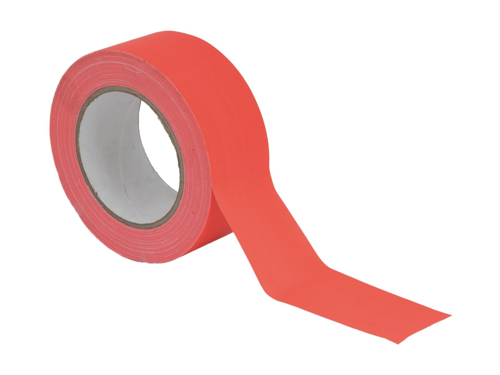 ACCESSORIO ai gaffa Tape 50mm x 25m neon-orange uv active
