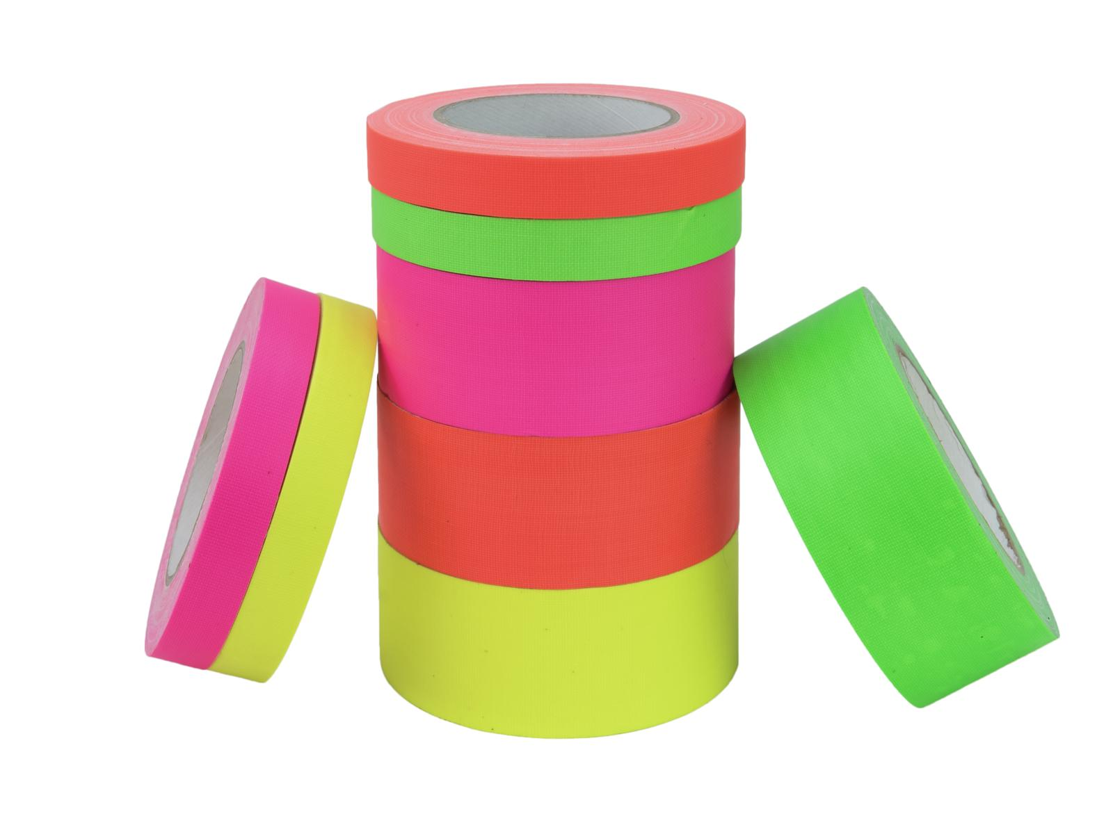 ACCESSORIO ai gaffa Tape 19mm x 25m neon-verde uv active