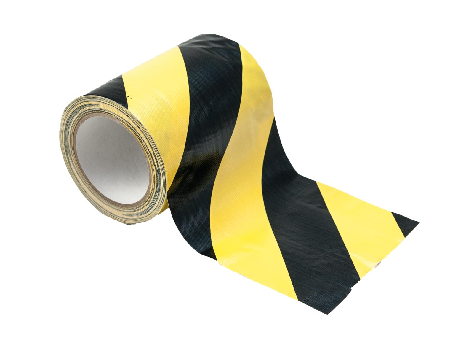 ACCESSORIO Cavo a nastro giallo/nero 150 mm x 15m