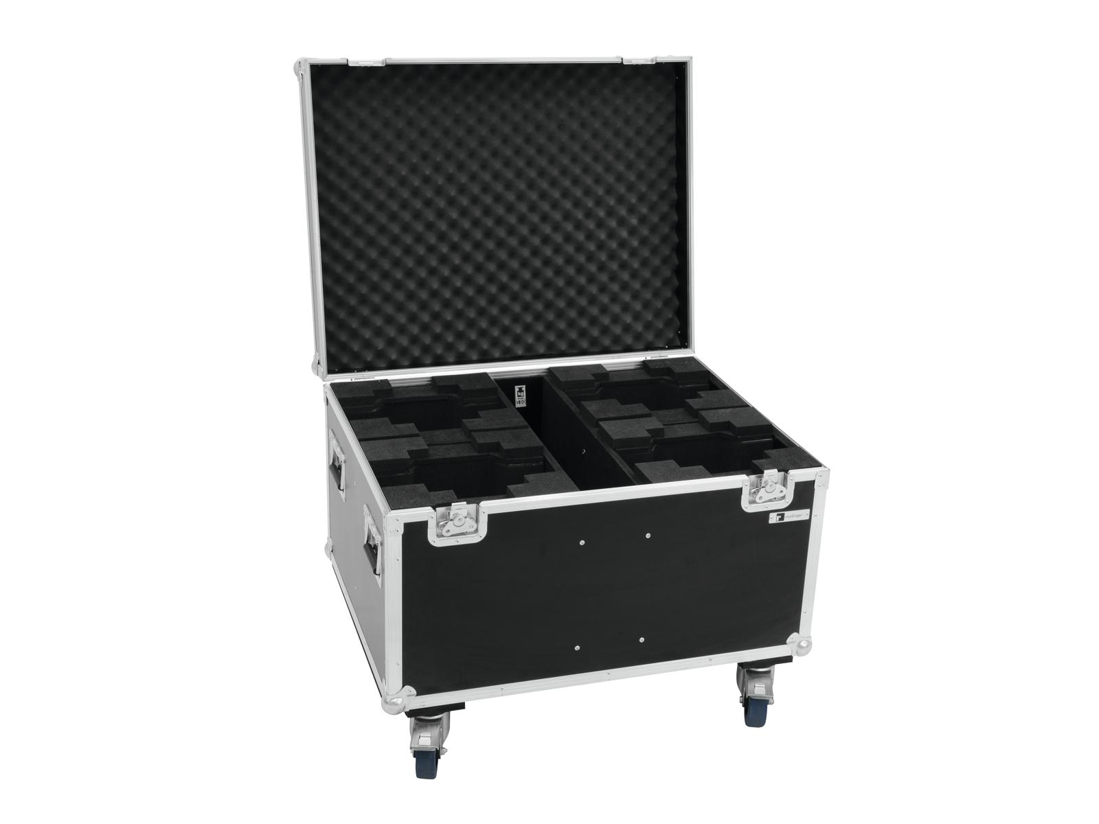 ROADINGER Flightcase 4x DMH-75