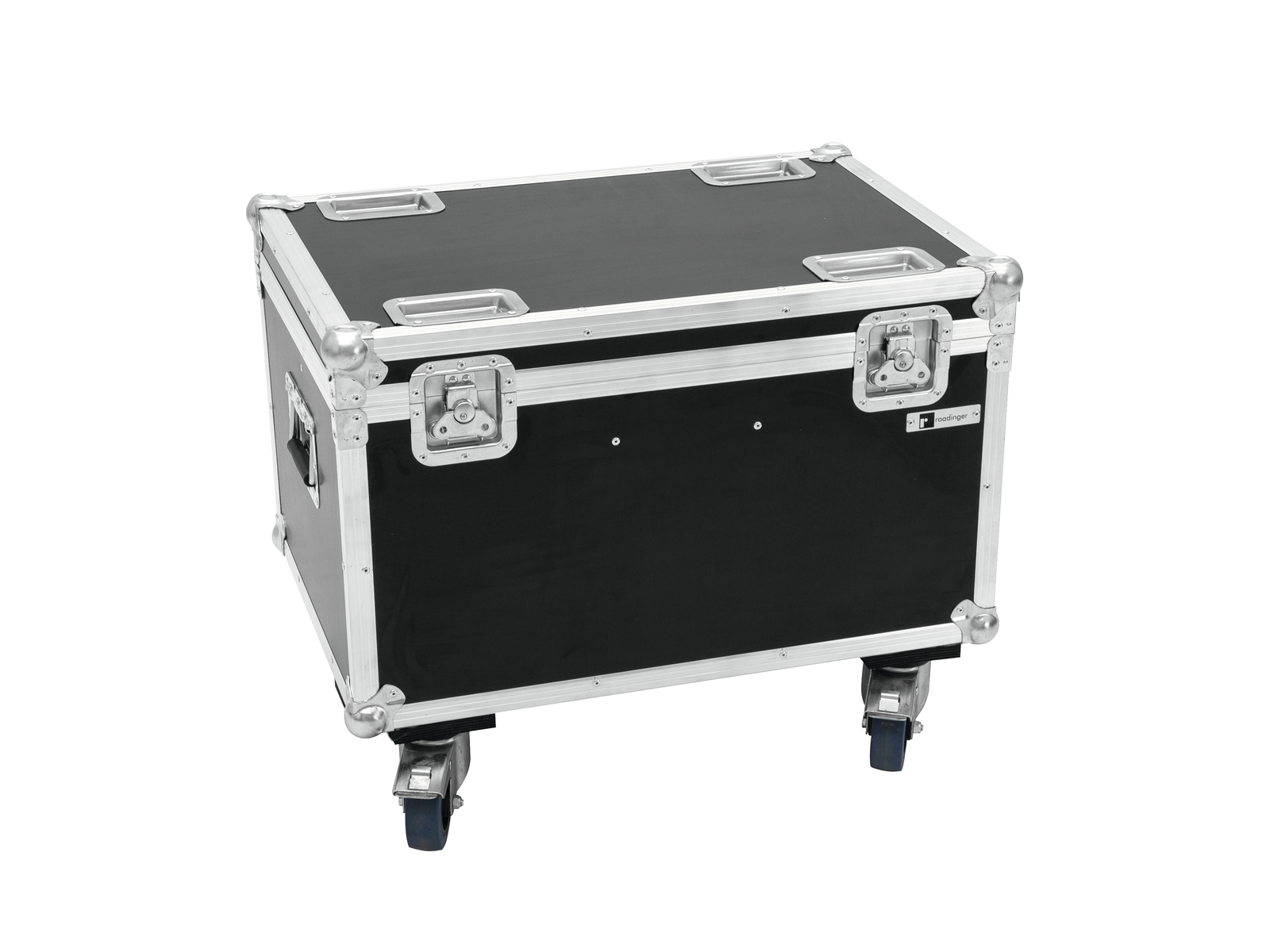 ROADINGER Flightcase 4x LED MF