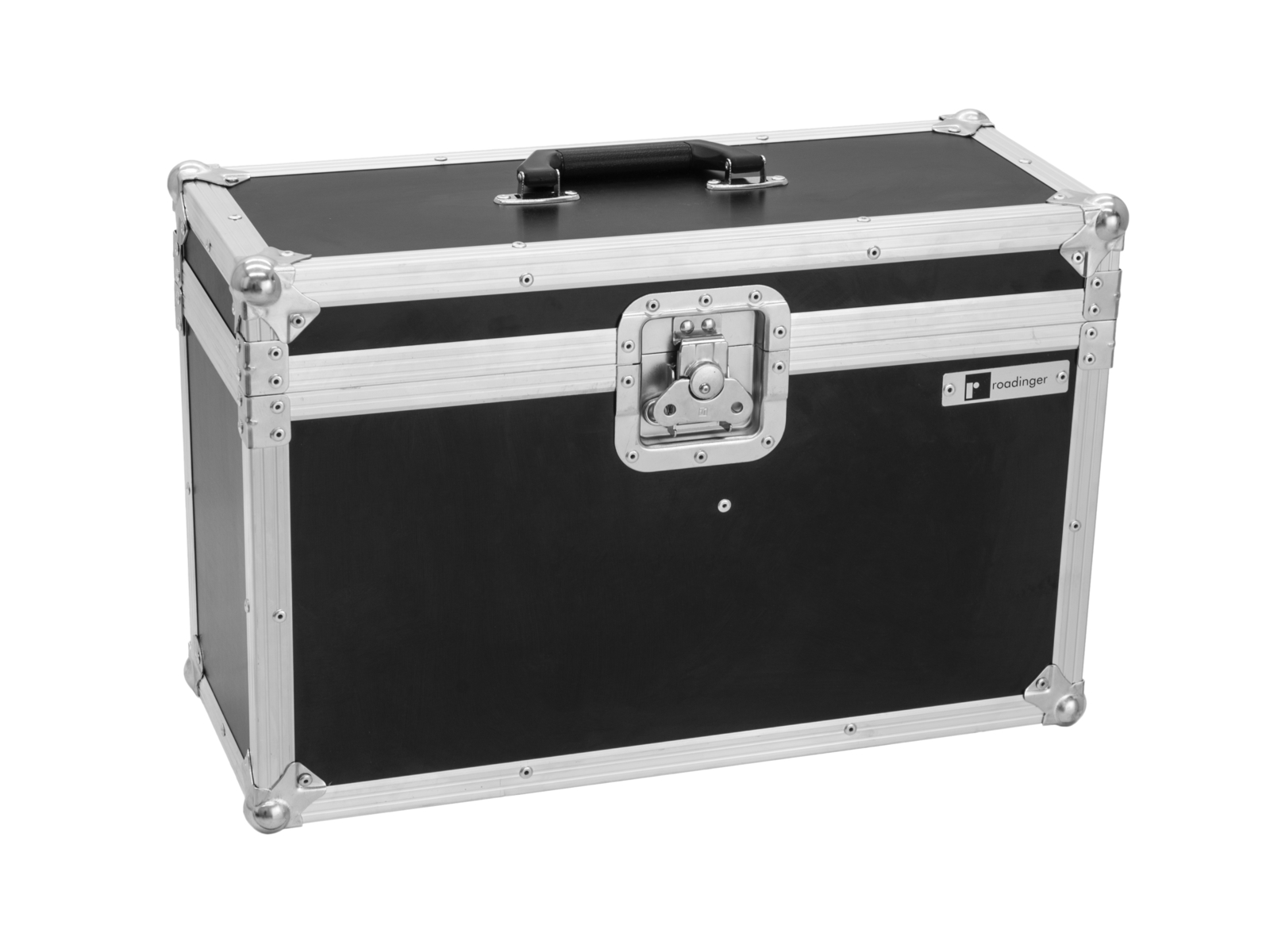ROADINGER Flightcase 2x LED PFE-50 3000K Profilo Spot