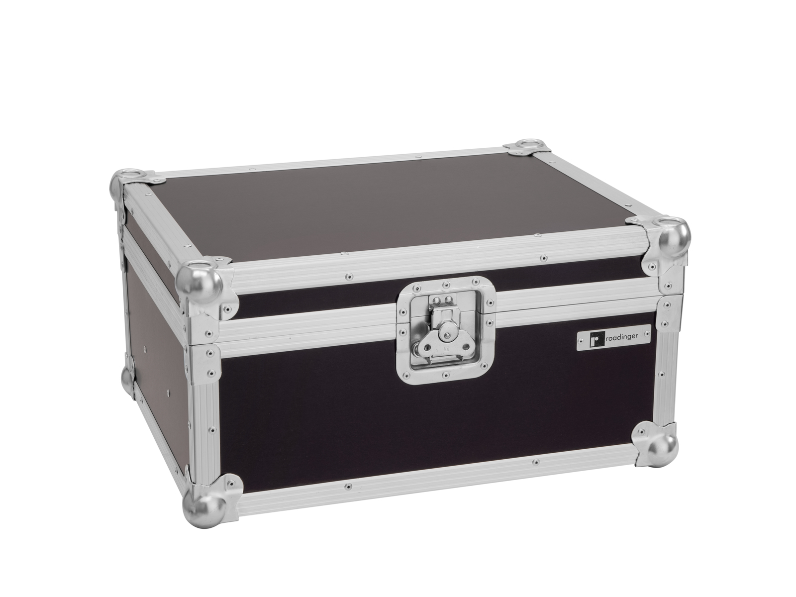 ROADINGER Flightcase 2x LED CBB-4