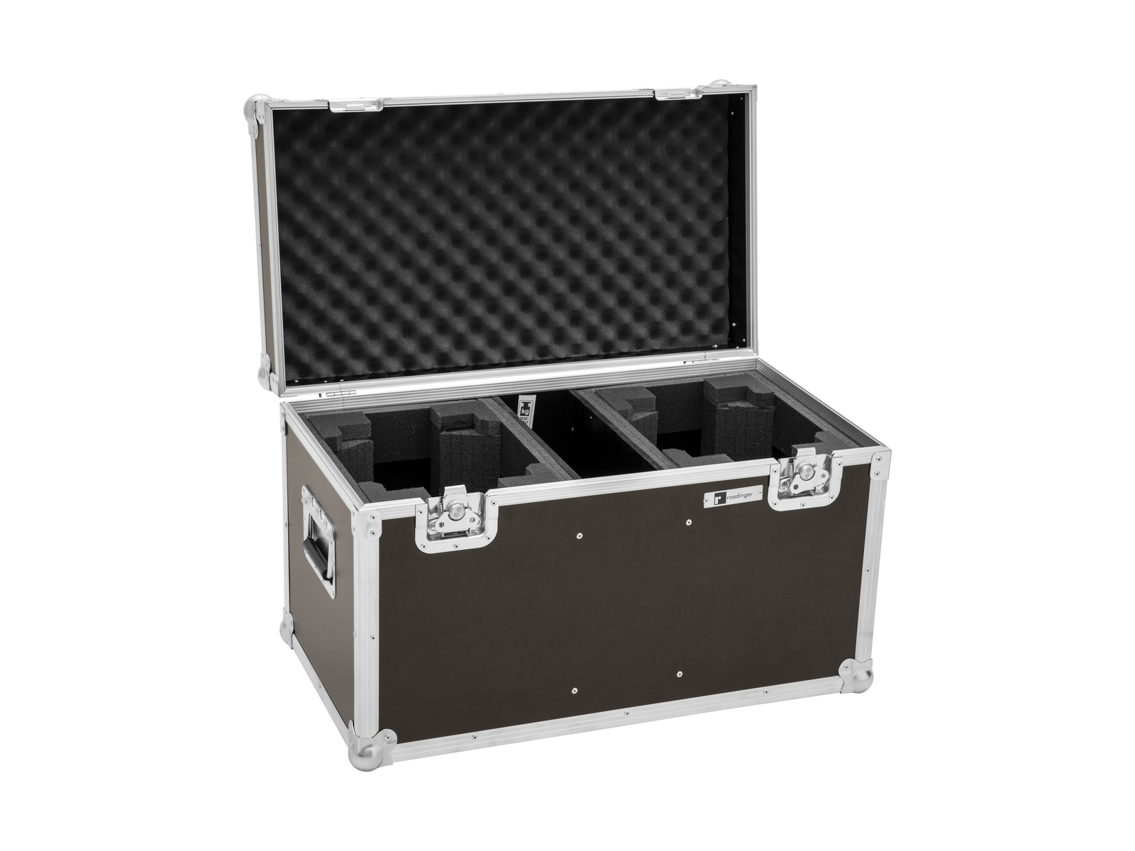 ROADINGER Flightcase 2x LED TMH-X4