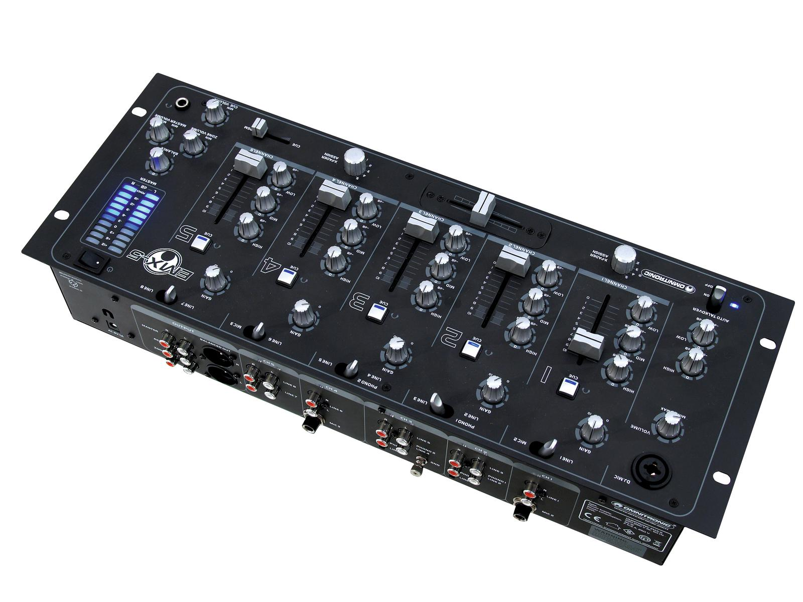 OMNITRONIC EMX-5 5-canale club mixer