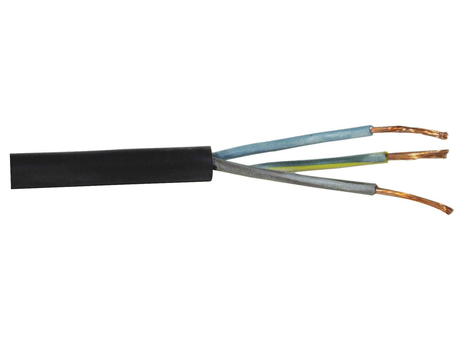 Power supply cable 3x1,5 100m H07RN-F