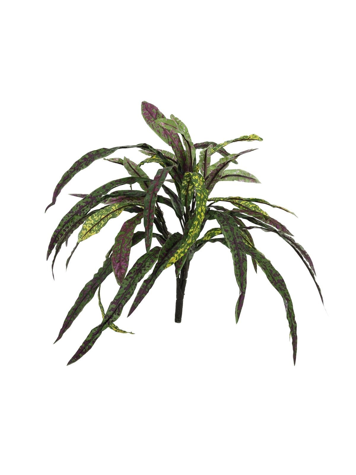 EUROPALMS pianta artificiale Croton , 40cm