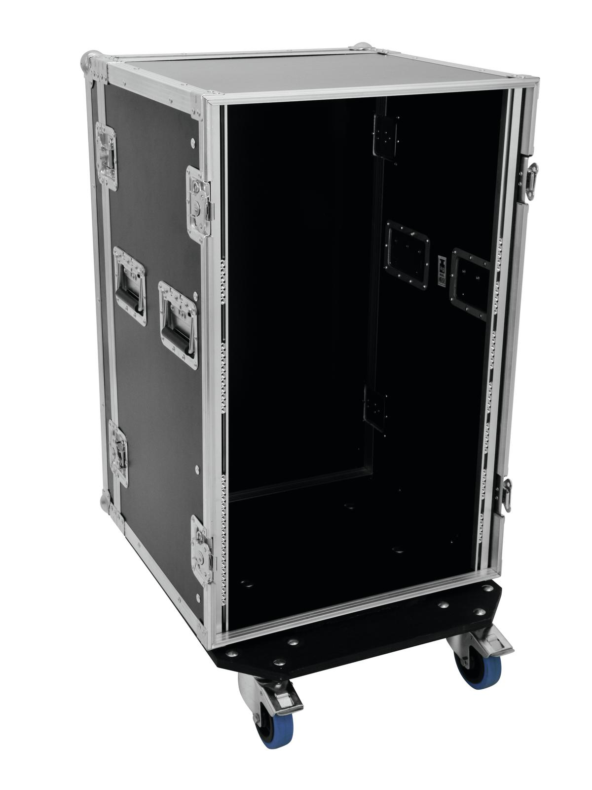 Flight case Rack Per il trasporto Di amplificatori 18U, 45cm Profi ROADINGER Ner