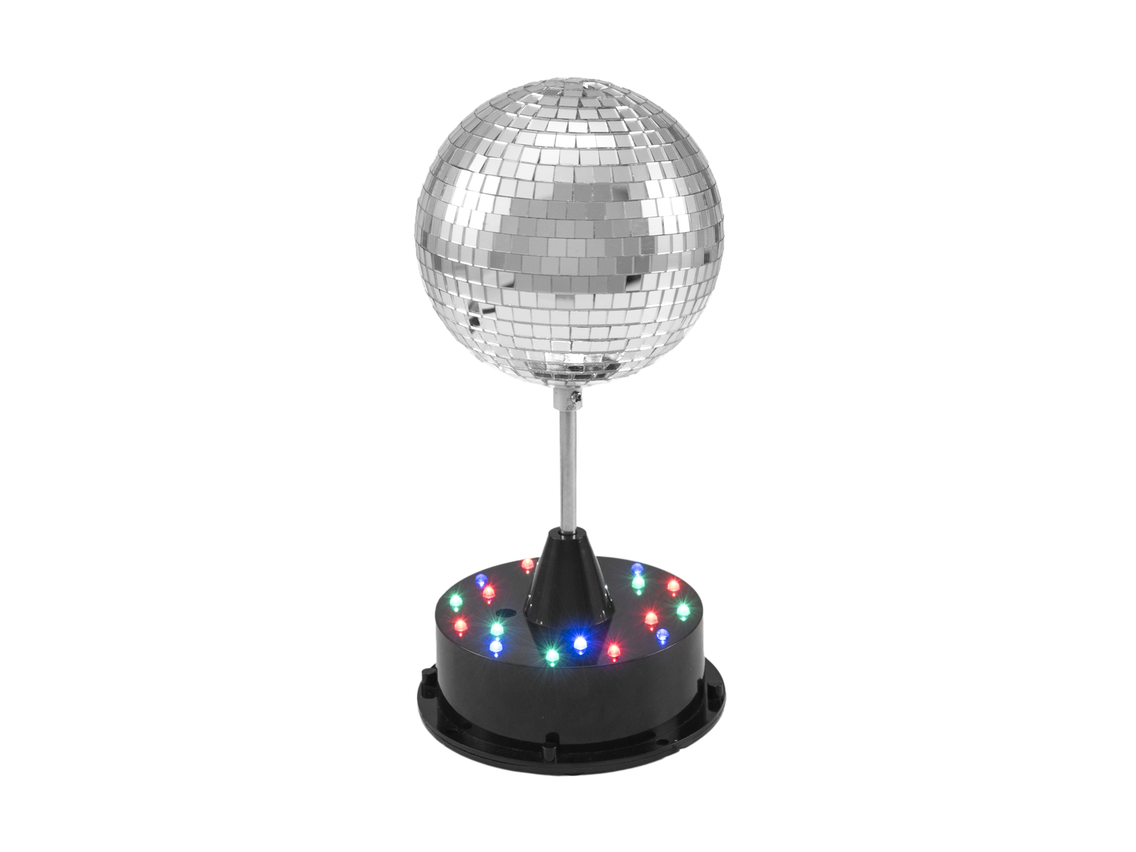 EUROLITE LED Mirror Ball 13cm con Base